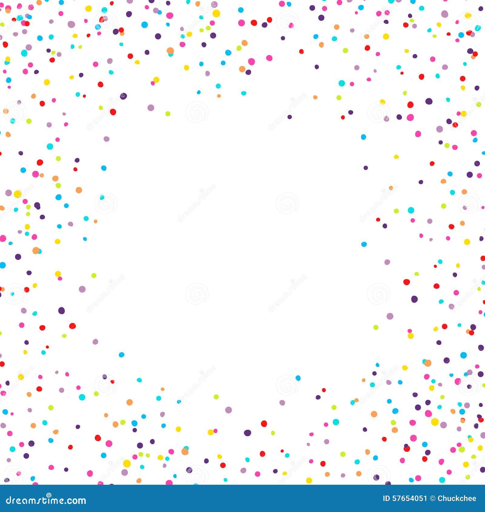 Confetti rama
