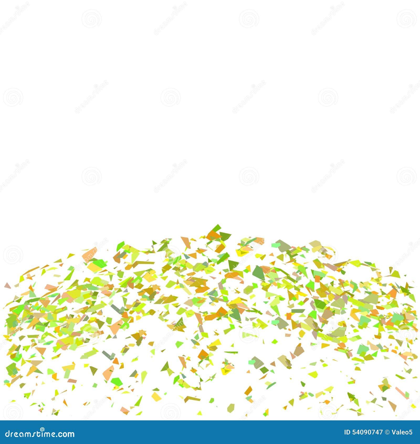 Confettienachtergrond