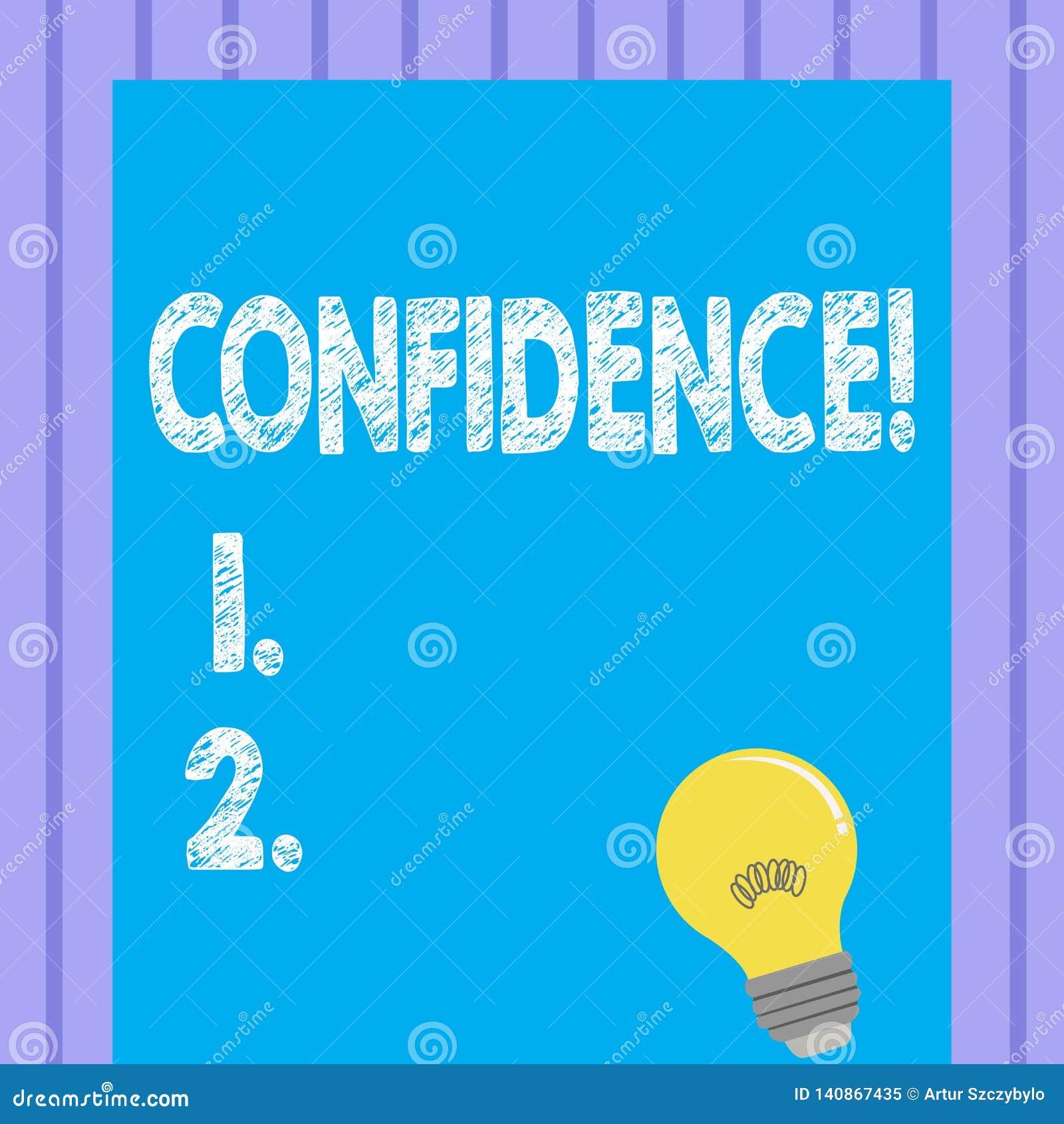 Confiance des textes d écriture de Word Le concept d affaires pour douter jamais jamais de votre valeur, inspirent et se transfor