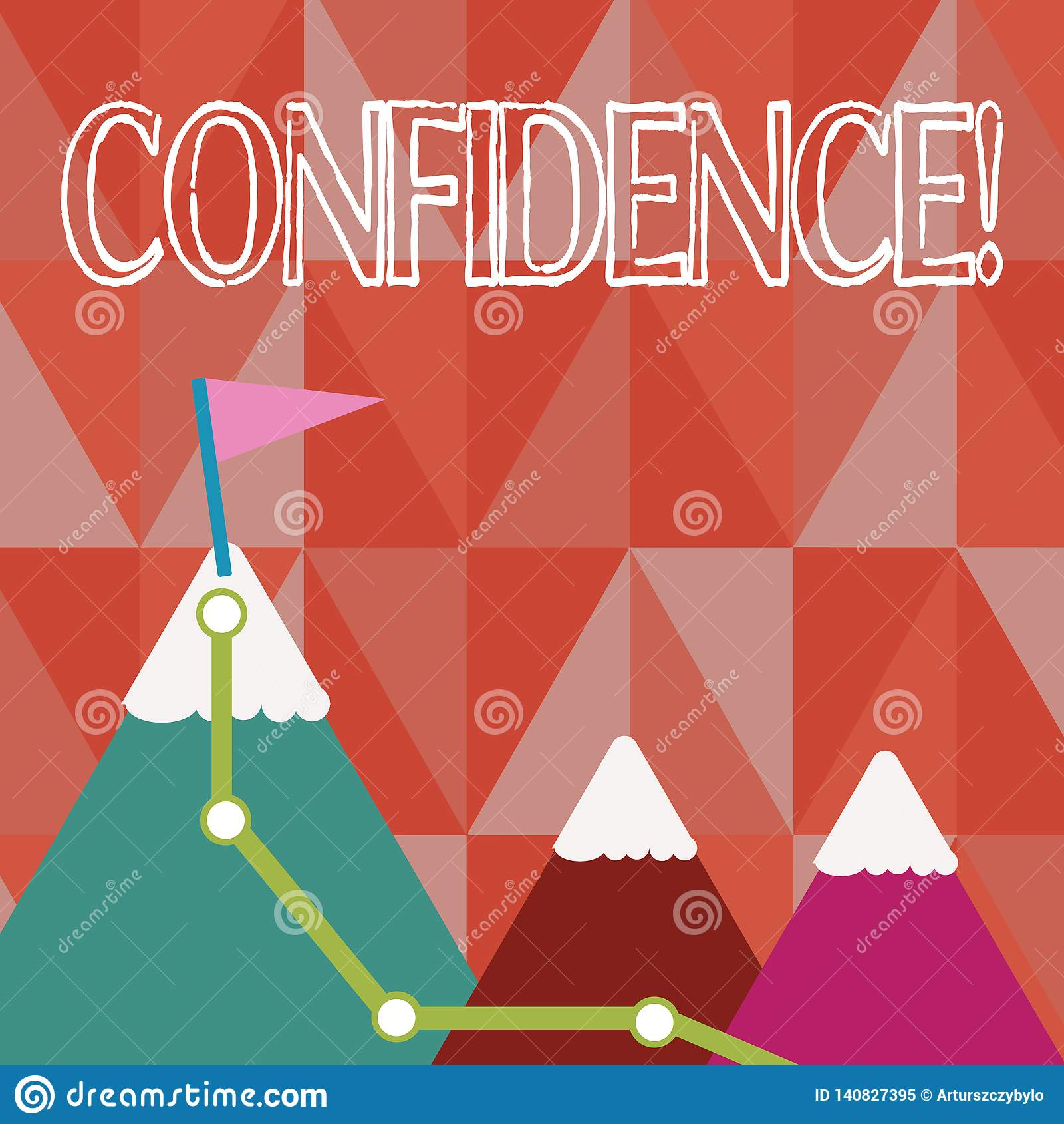 Confiance des textes d écriture Le concept signifiant douter jamais jamais de votre valeur, inspirent et se transforment
