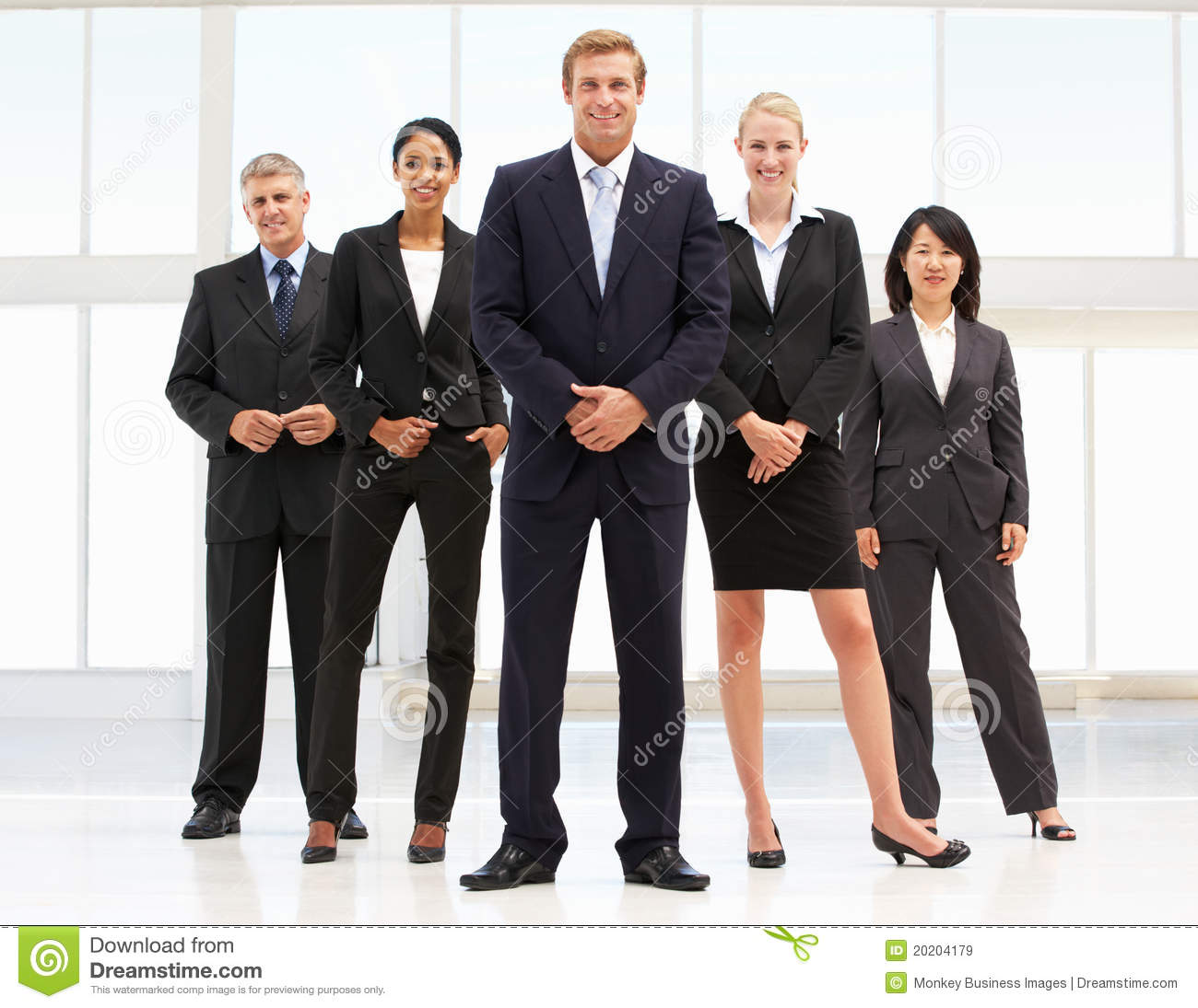 Confident Business People Royalty Free Stock Images