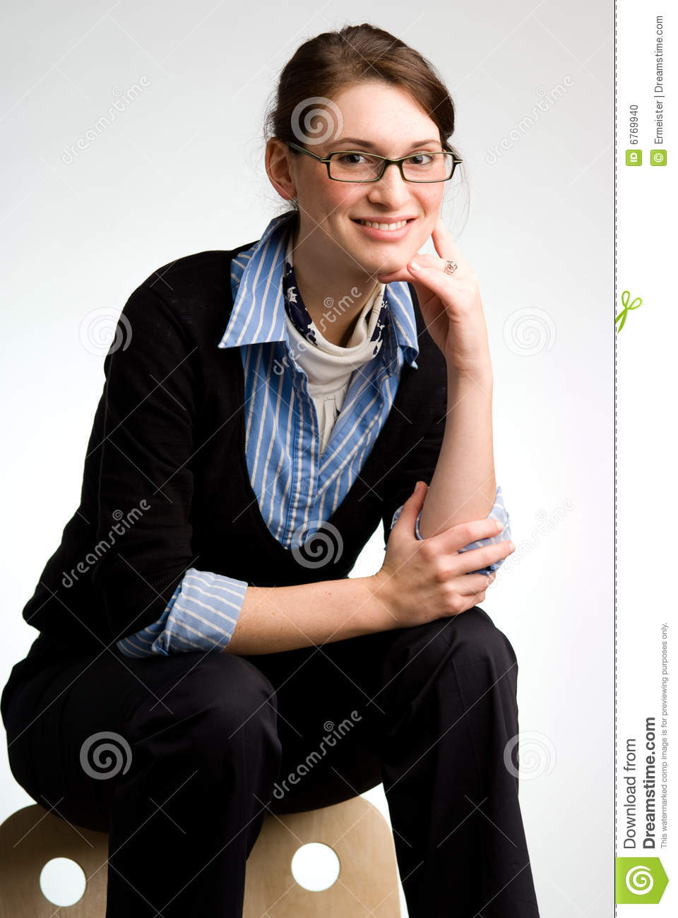 confident business w or teen stock photo image  confident business w or teen