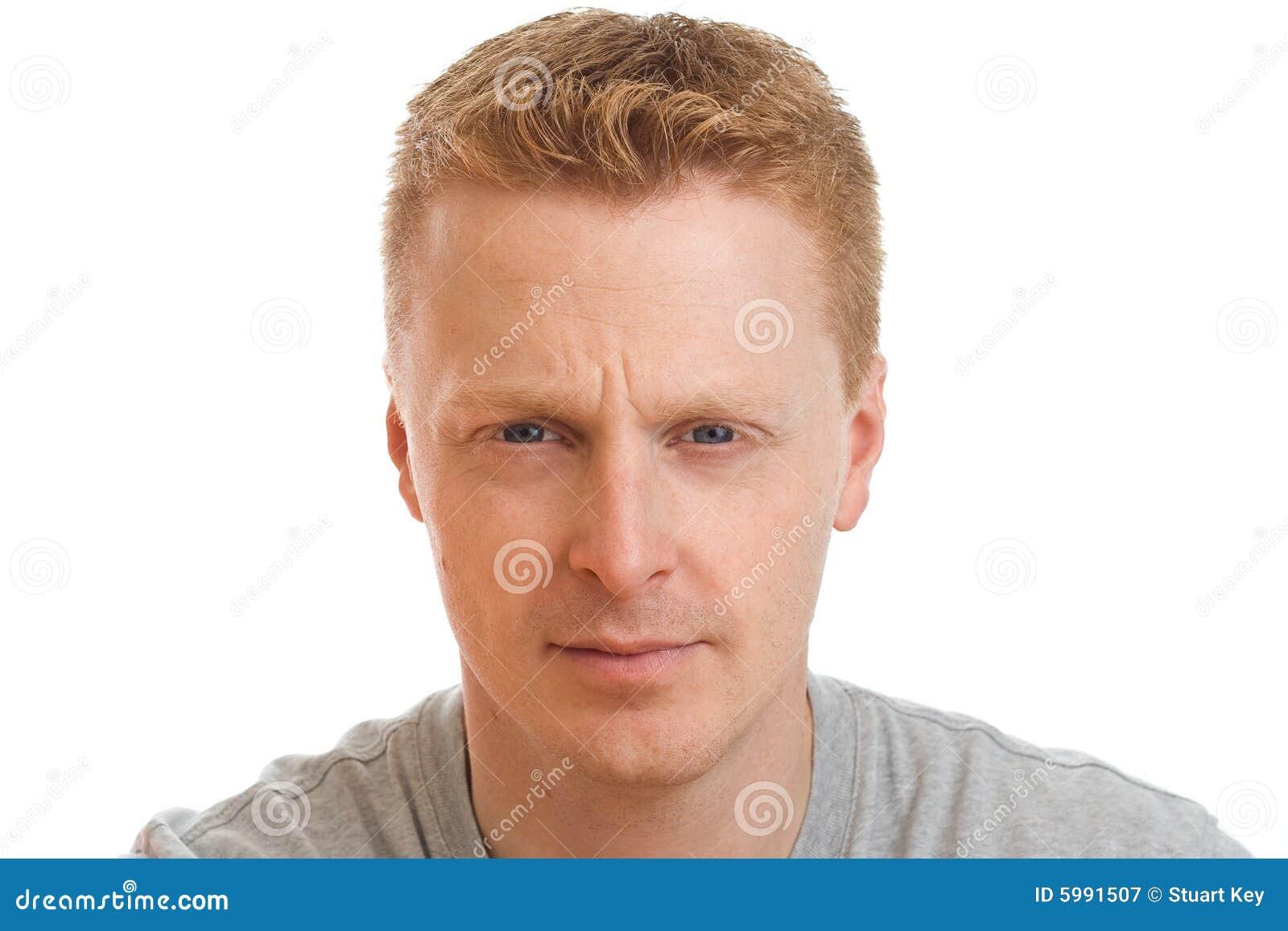 Confident man portrait