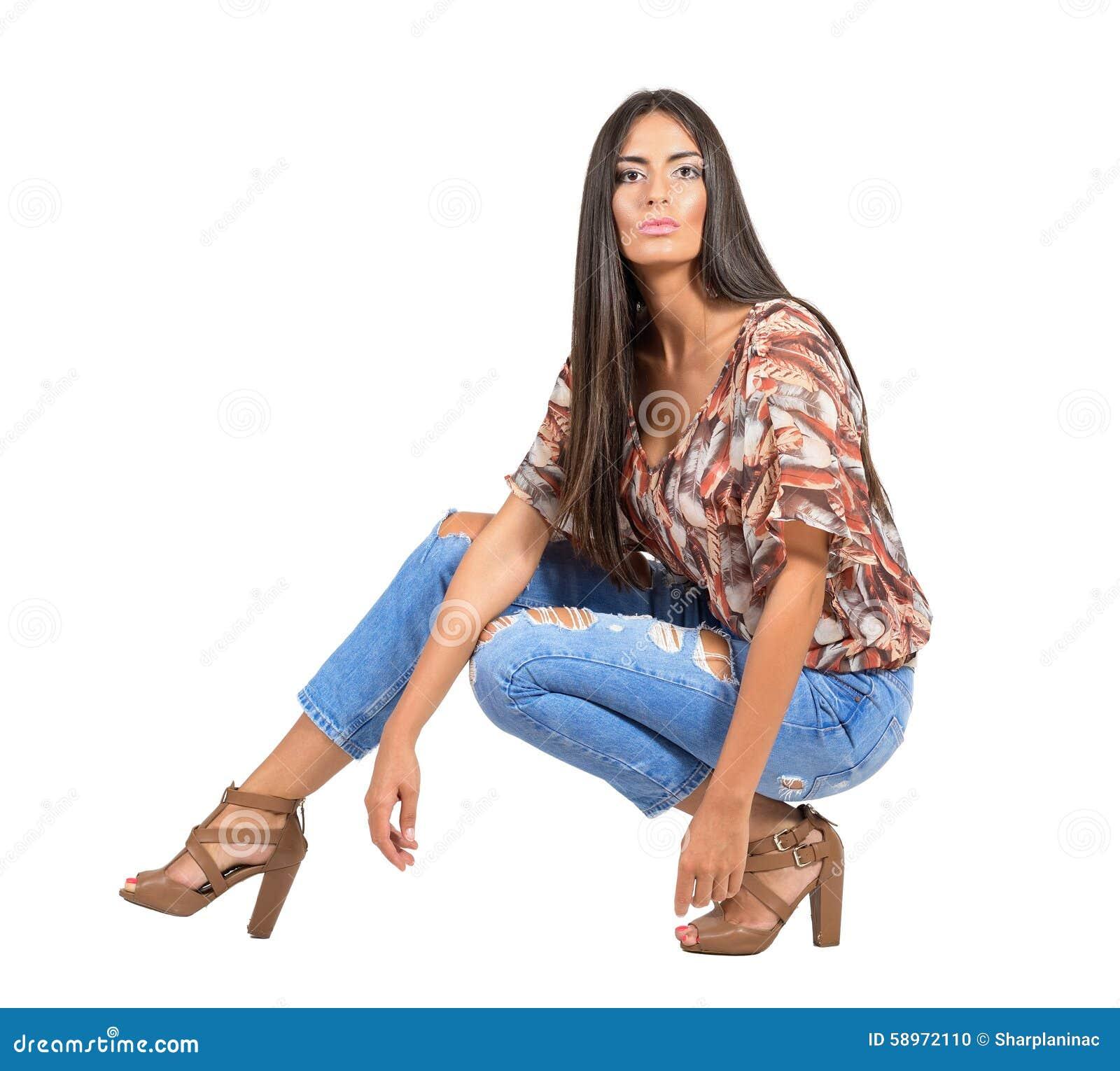 latin girl nude body