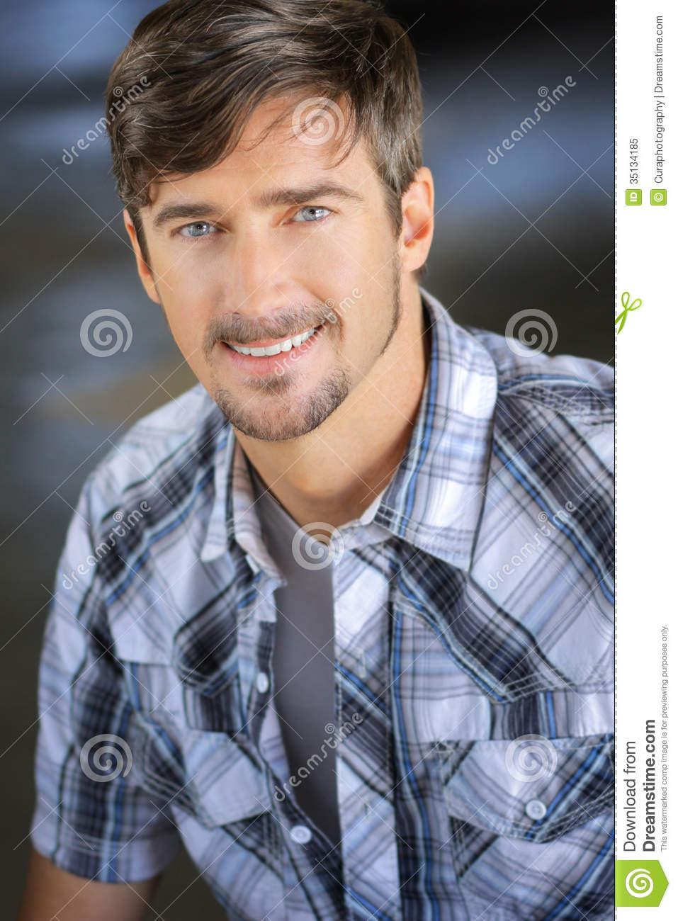 Confident Smile Man Stock Image. Image Of Carefree, Close