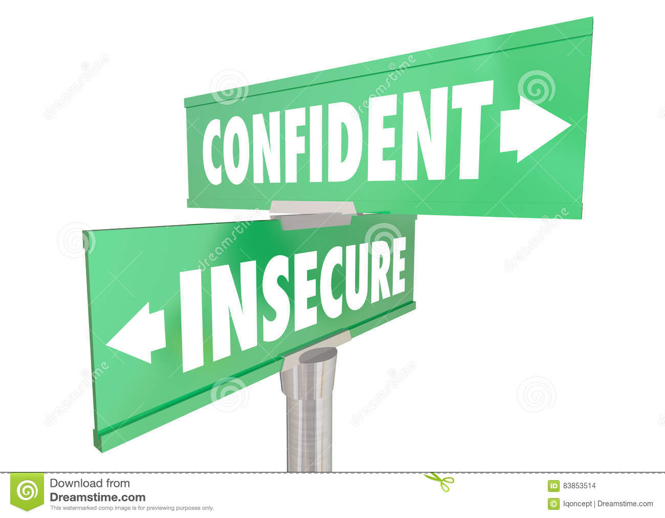 Confidence signs