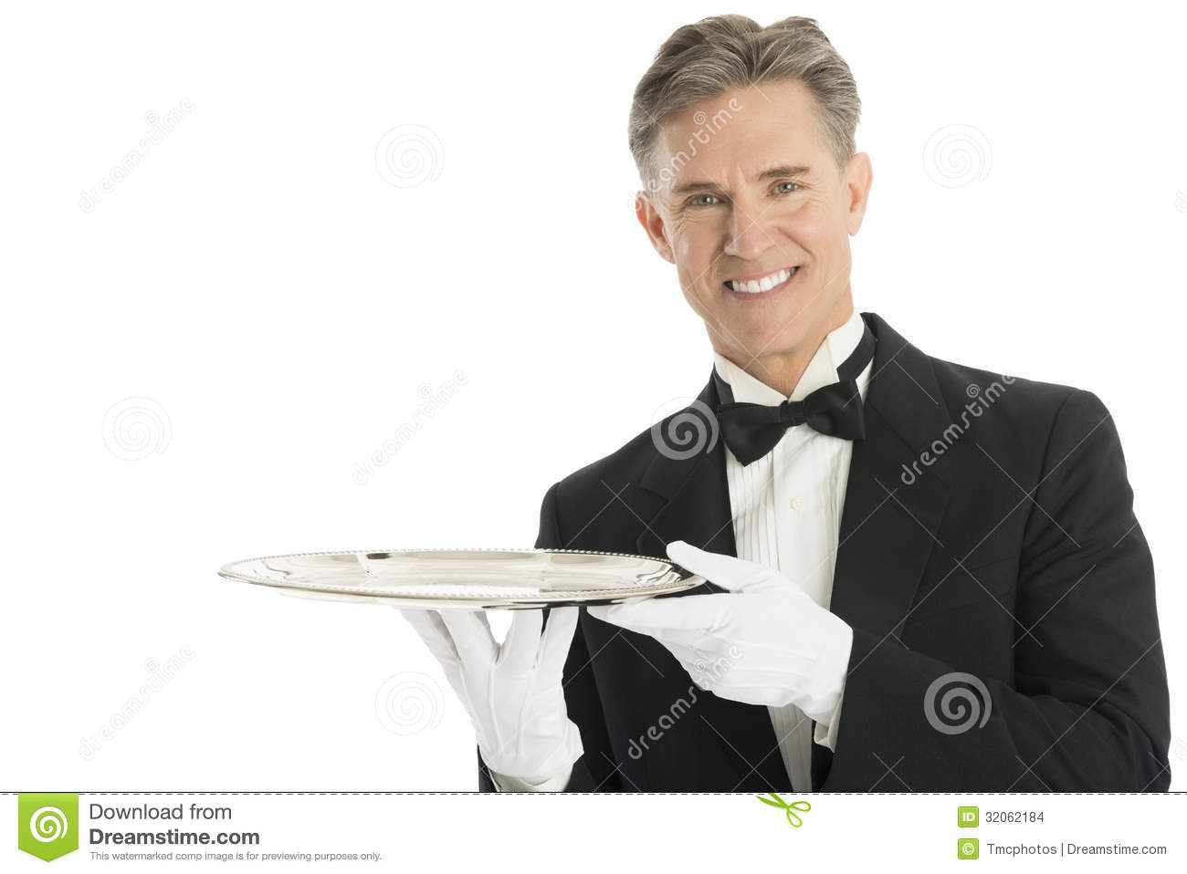 Serving Tray Stock Images  Waiters Serving Tray