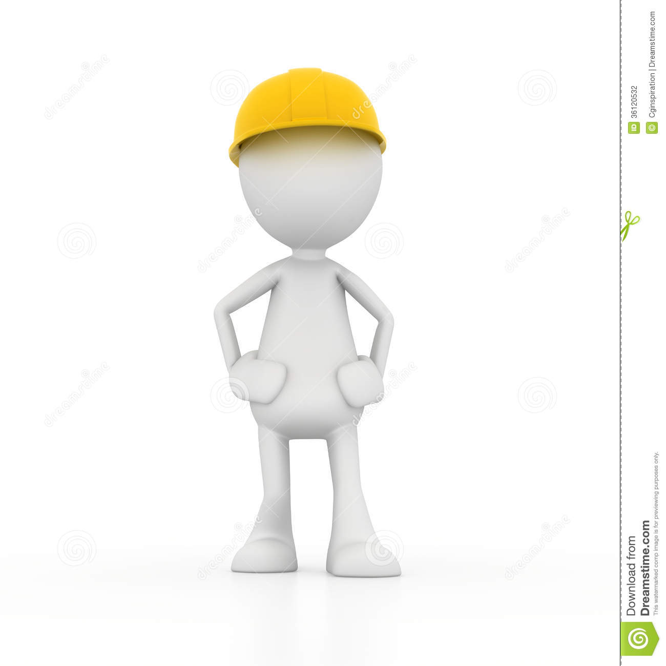 Confident Worker Stock Photography - Image: 36120532