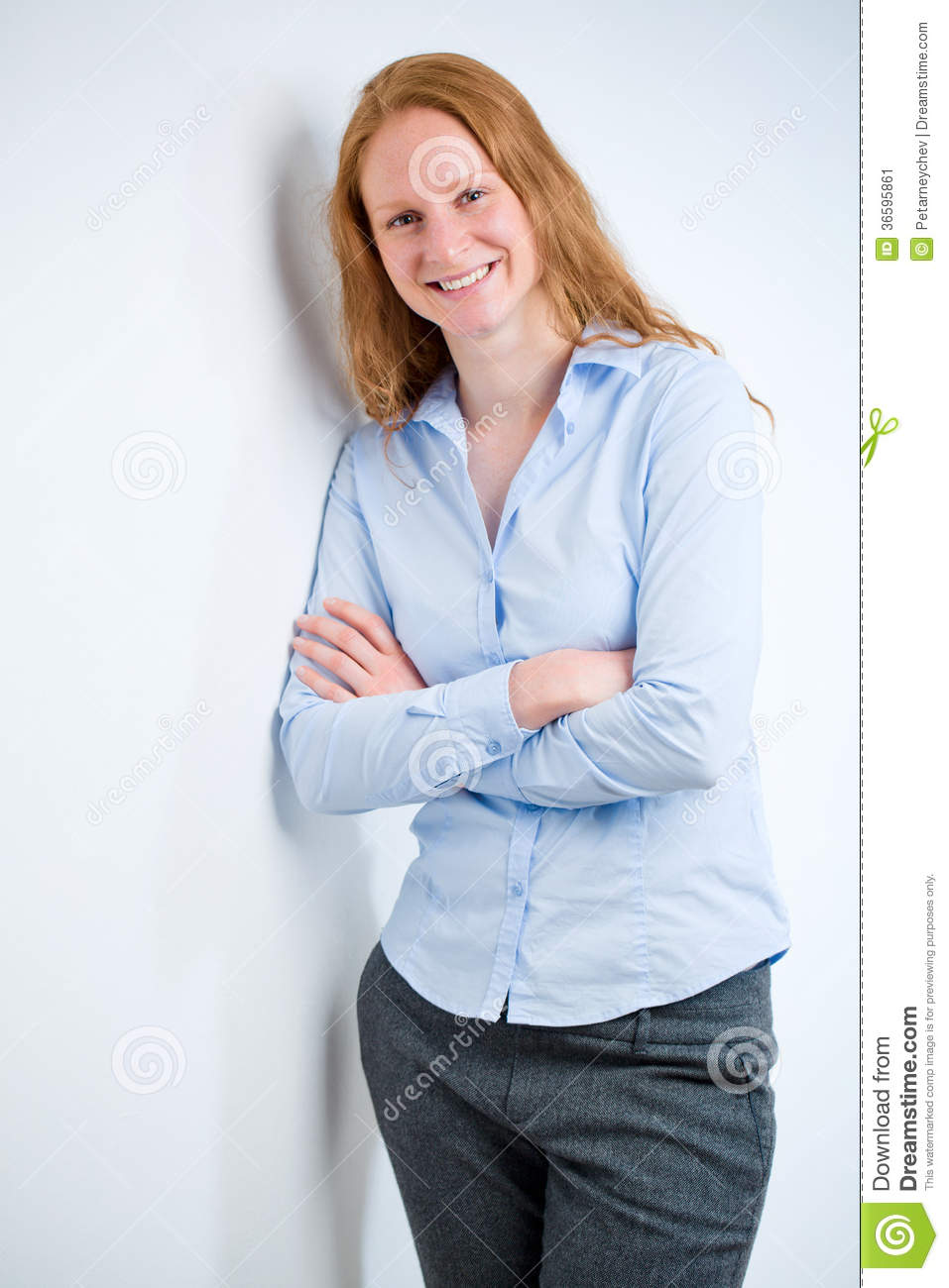 confident young business person stock image image 36595861