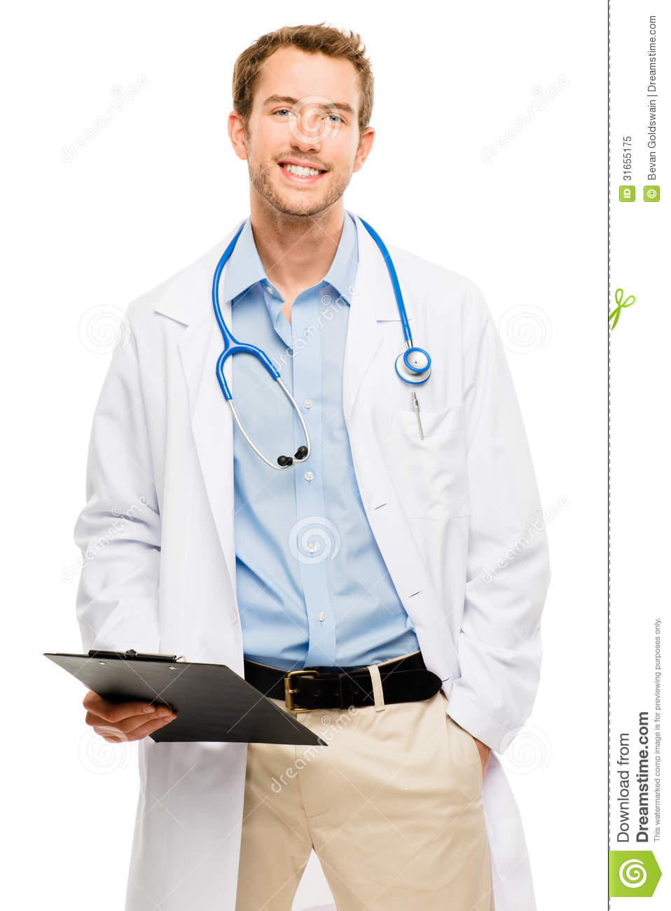confident young male doctor holding clipboard on white clip art clipboard and paper clipart clipboard