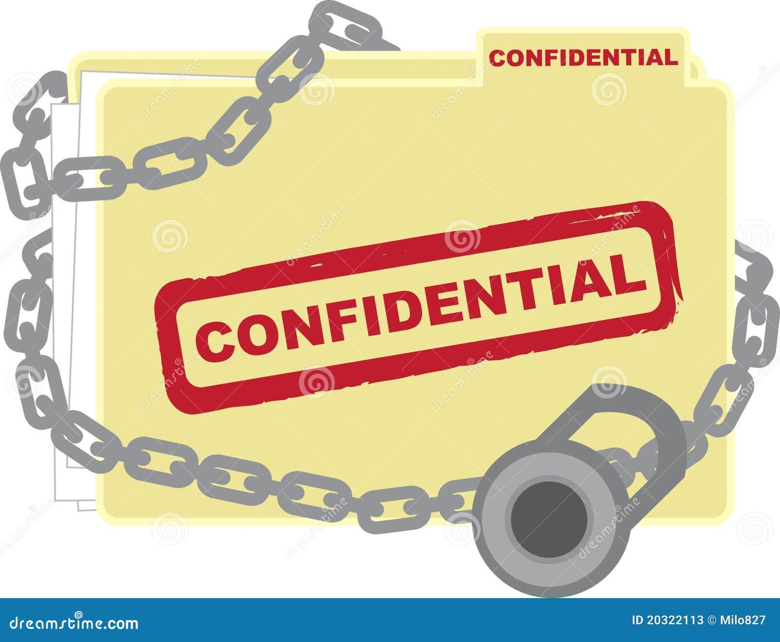 Confidential Folder Stock Photos - Image: 20322113