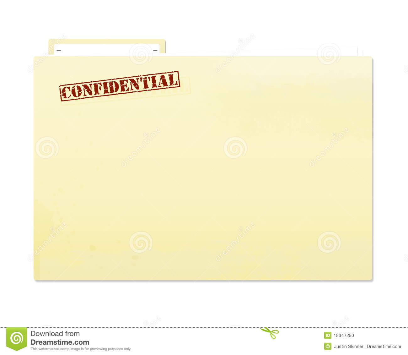 Stock Photo Confidential Folder File Image15347250 on Letter P Template