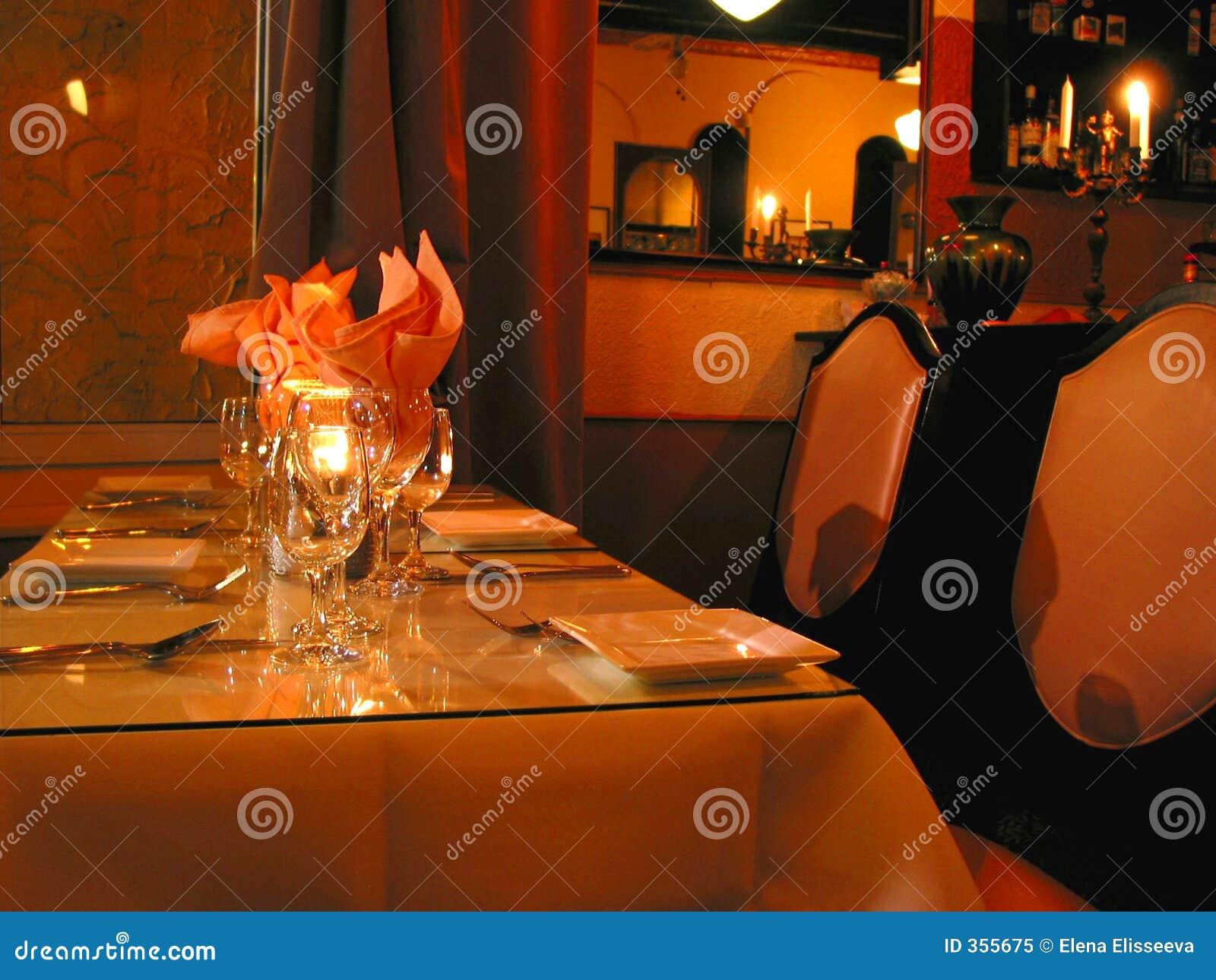 Configuración del vector de cena