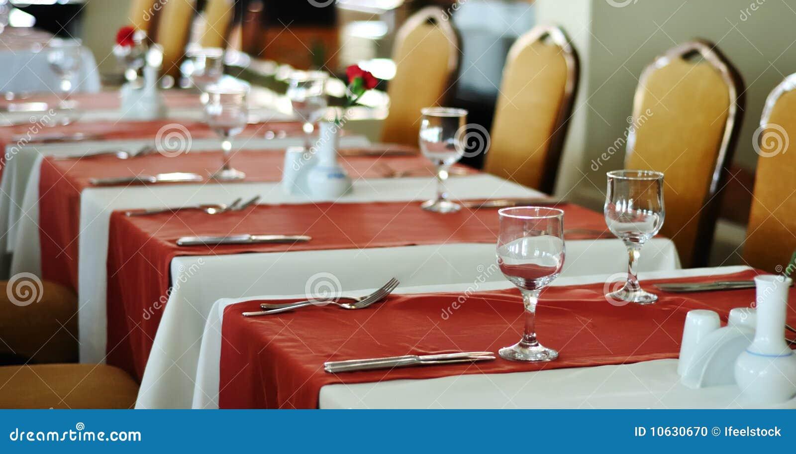 Configuración del vector para un acontecimiento de la cena