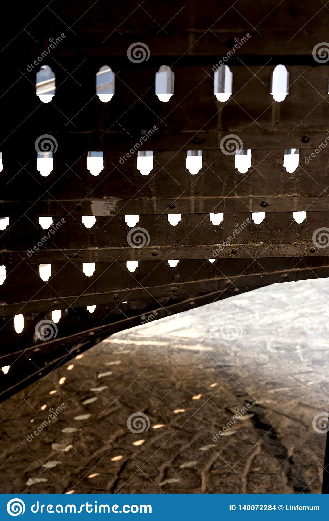 Configuración moderna abstracta Sombras y luz
