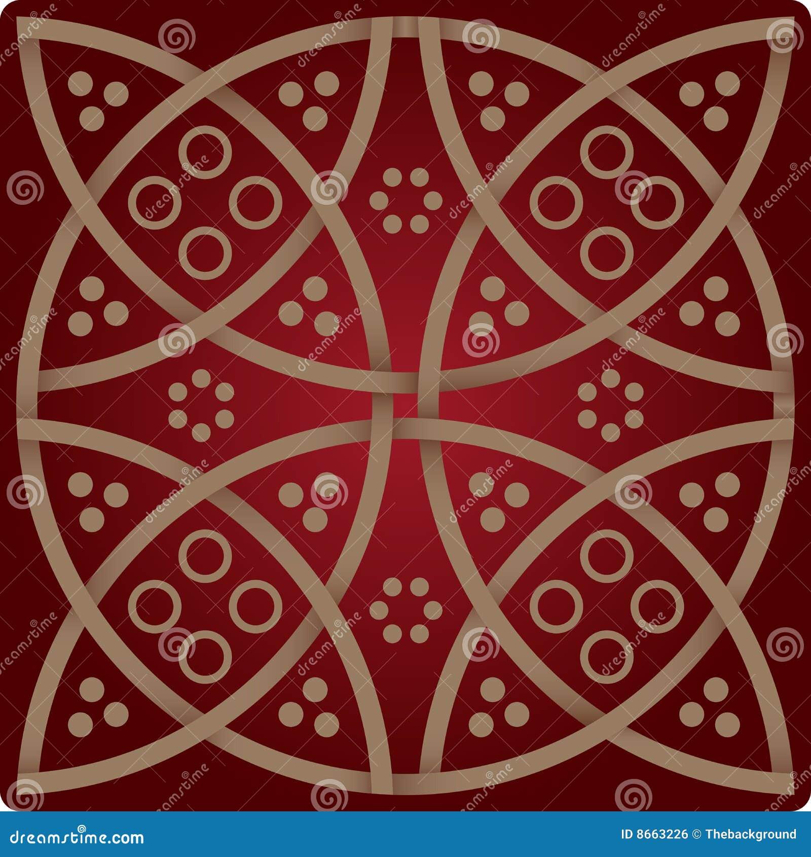 Configuration d élégance dans des couleurs rouges de vin