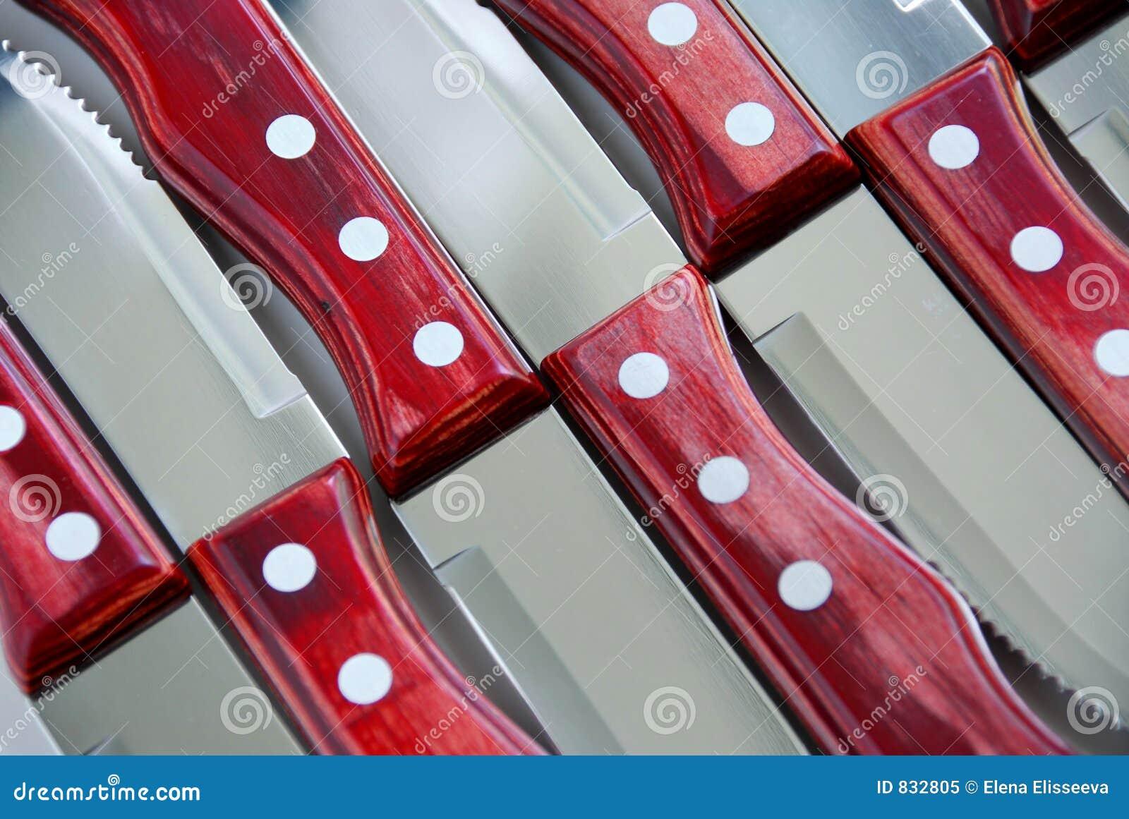 Configuration de couteaux de bifteck
