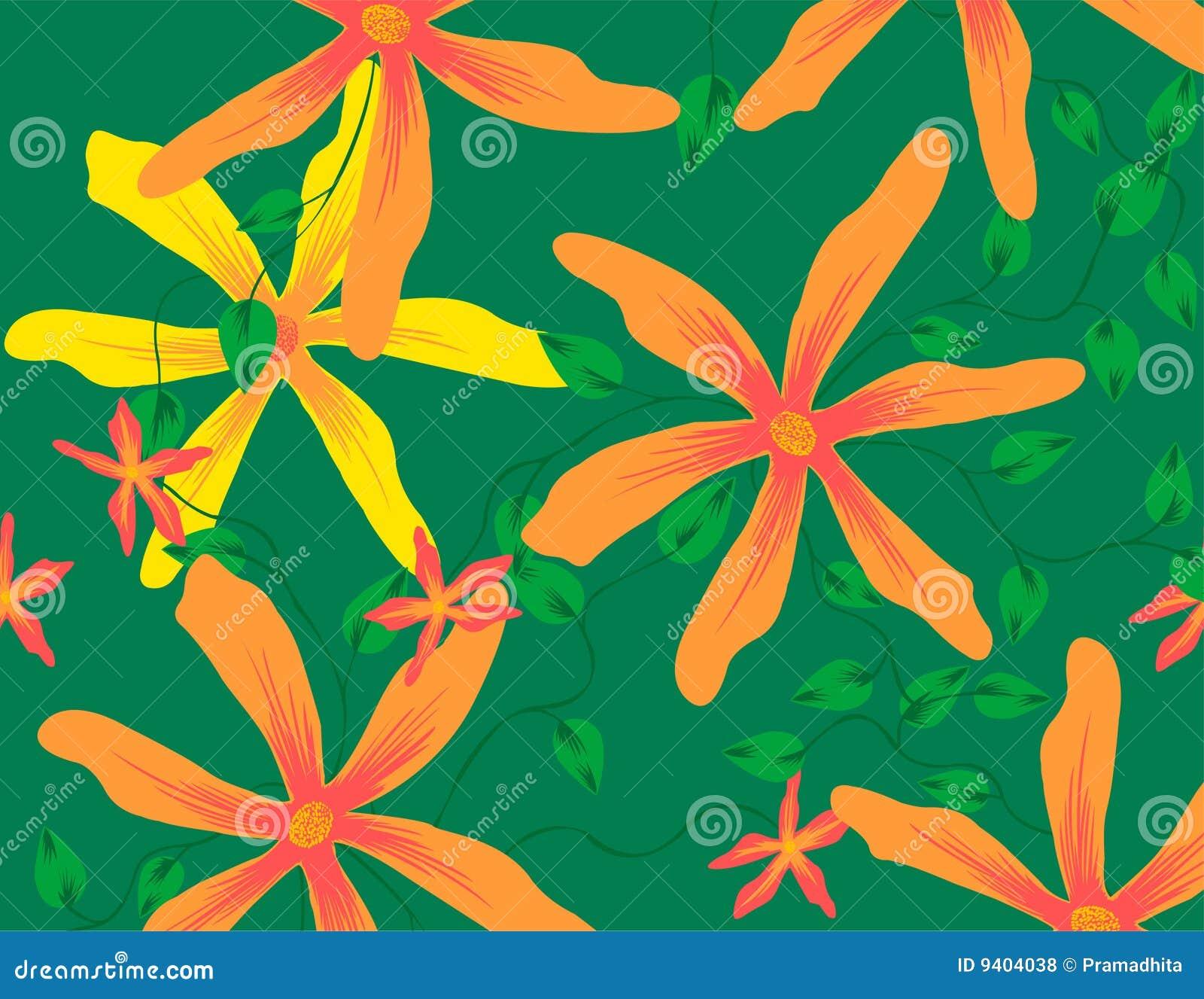 Configuration de fleur jaune d étoile