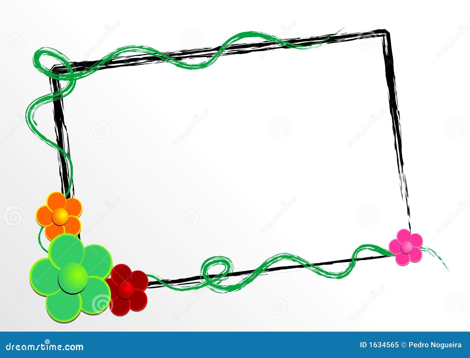 Configuration de fleur vectorielle Photo libre de droits