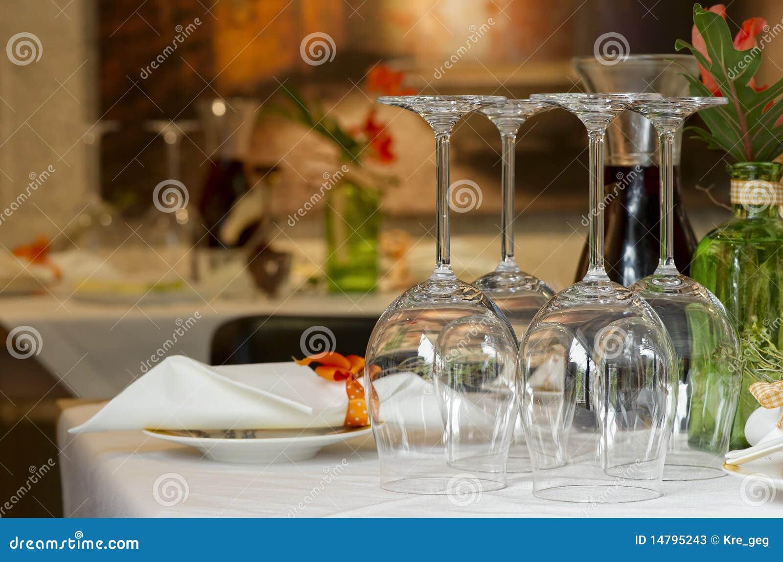 Configuration de place au restaurant
