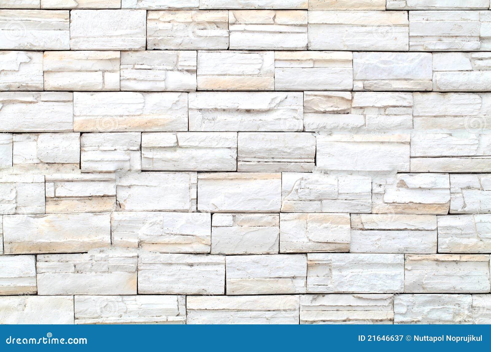 configuration du mur de briques en pierre blanc image stock image du neuf lumi re 21646637. Black Bedroom Furniture Sets. Home Design Ideas