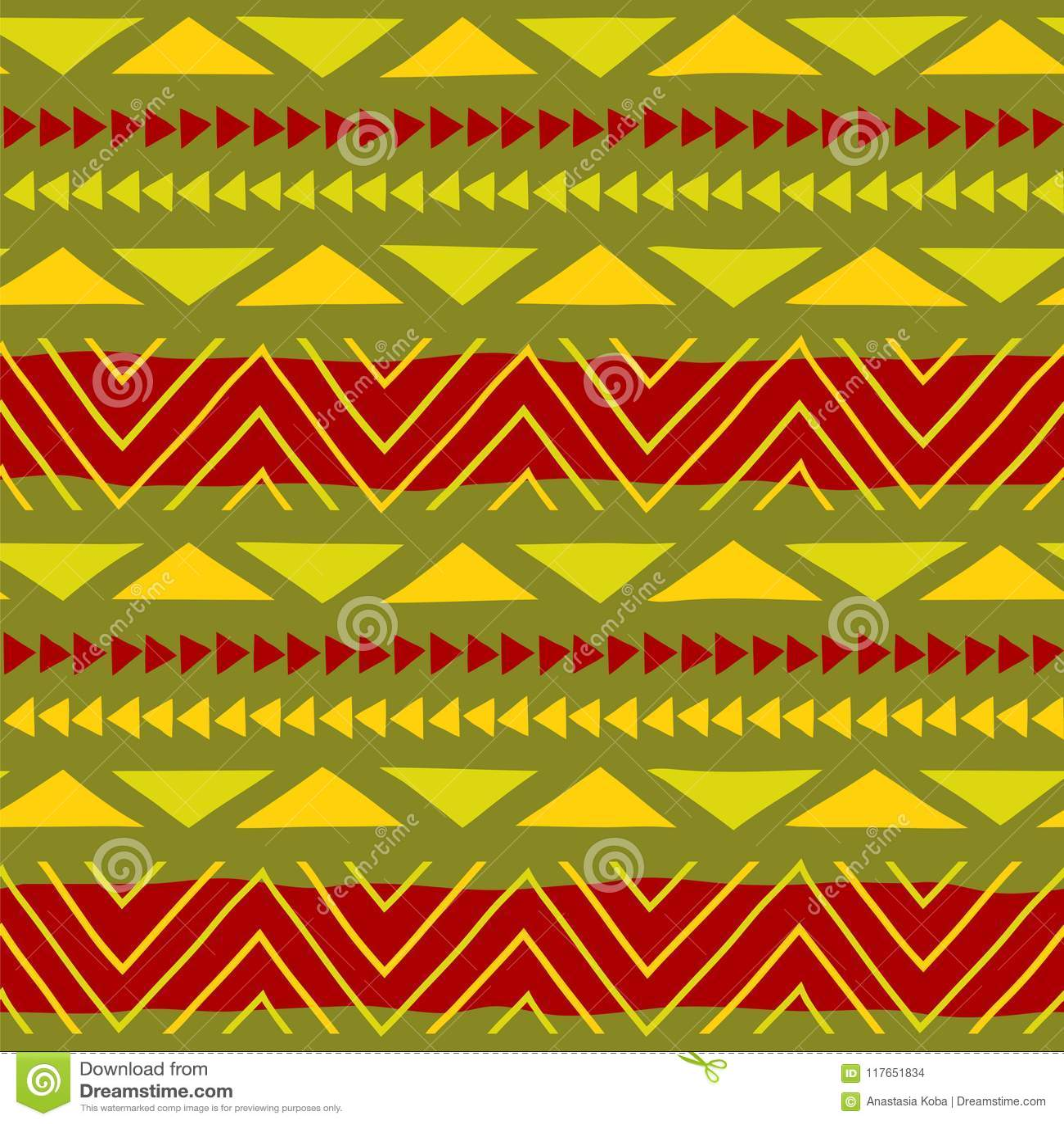 Configuration ethnique Art tribal Configuration africaine Fond de vecteur
