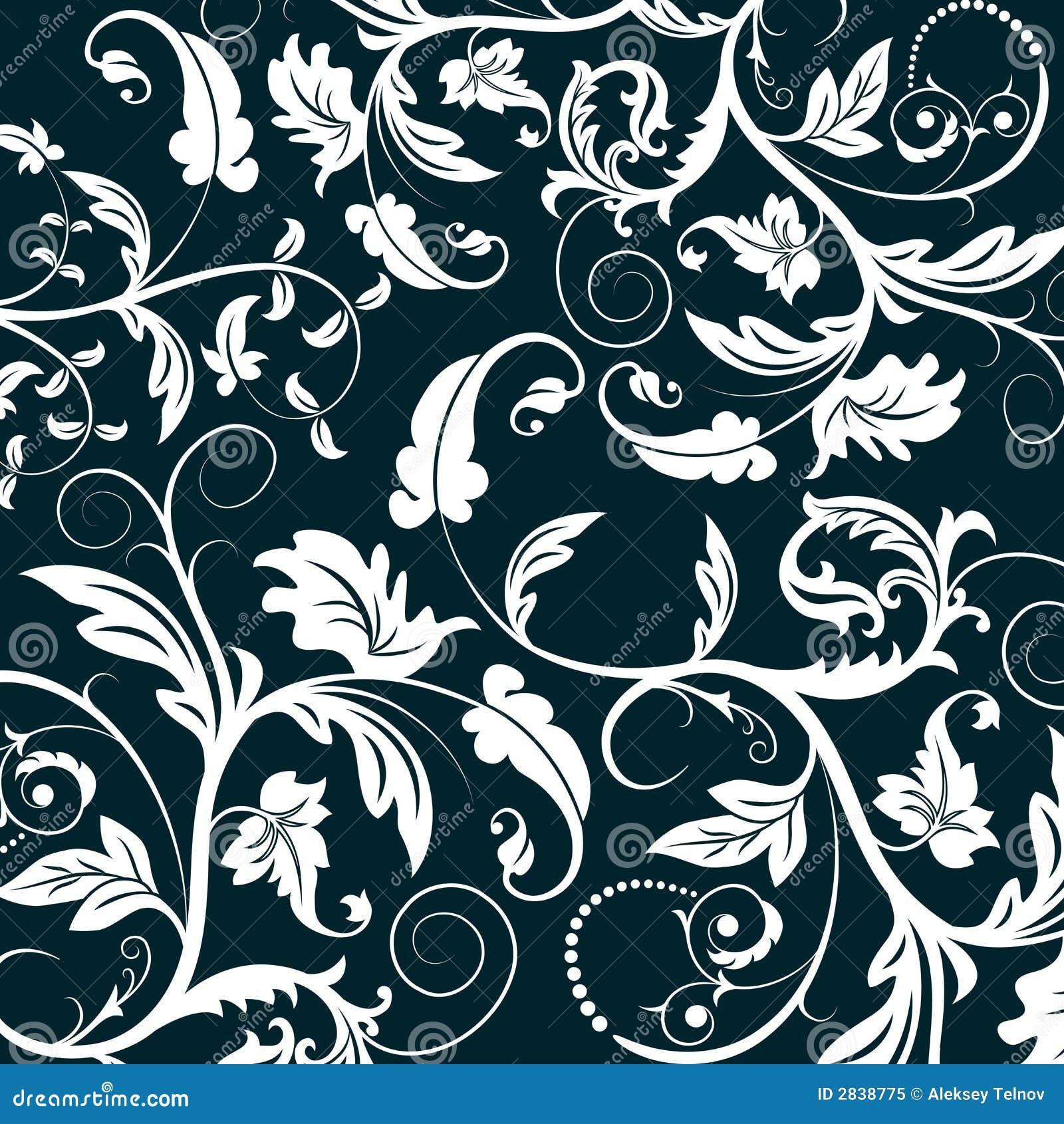 Configuration florale abstraite