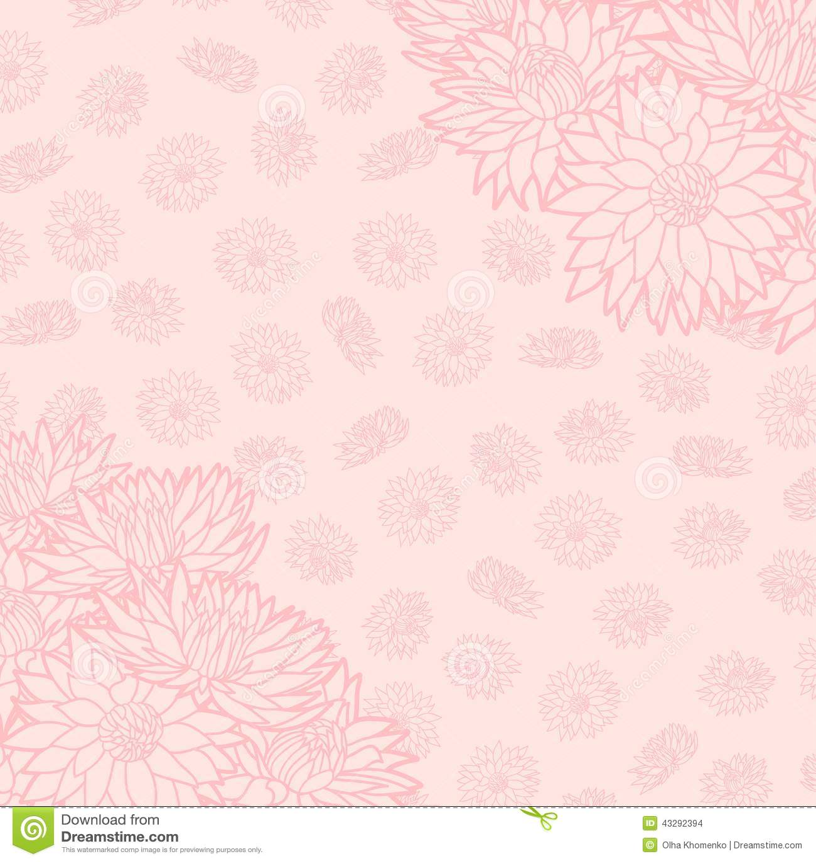 Configuration florale illustration de vecteur beau fond la texture sans fin peut tre employ e - Imprimer photo sur tissu ...