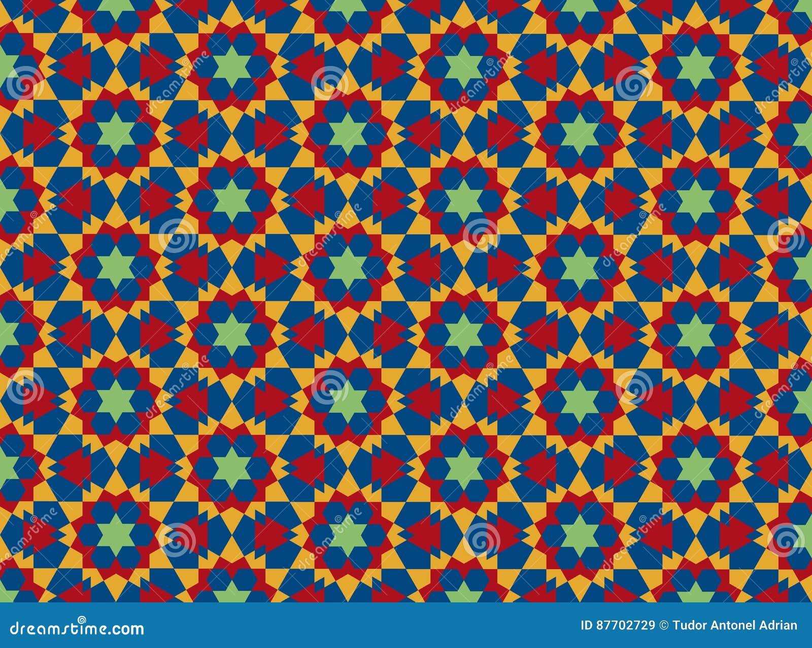 Configuration géométrique islamique
