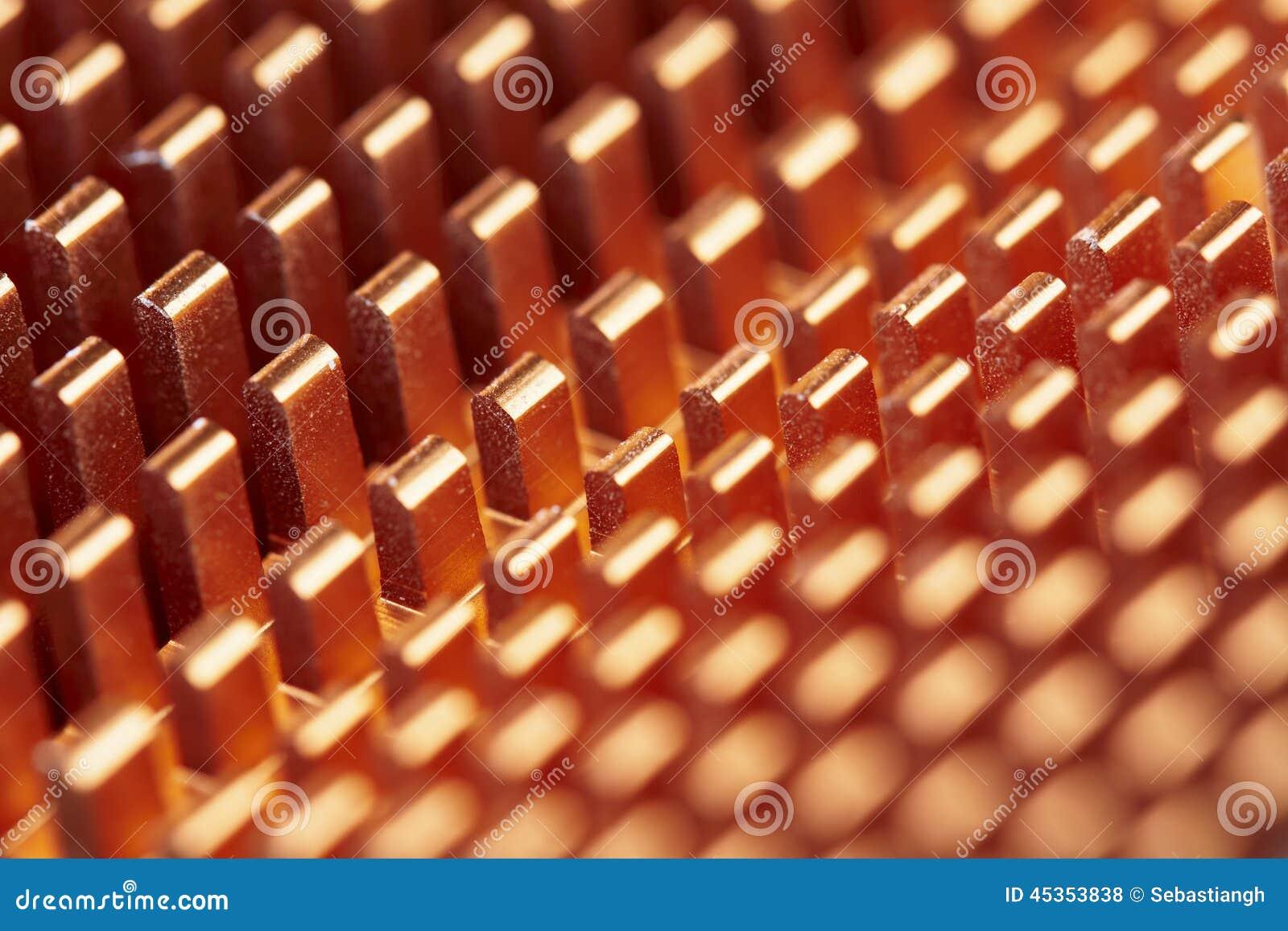 Configuration métallique abstraite
