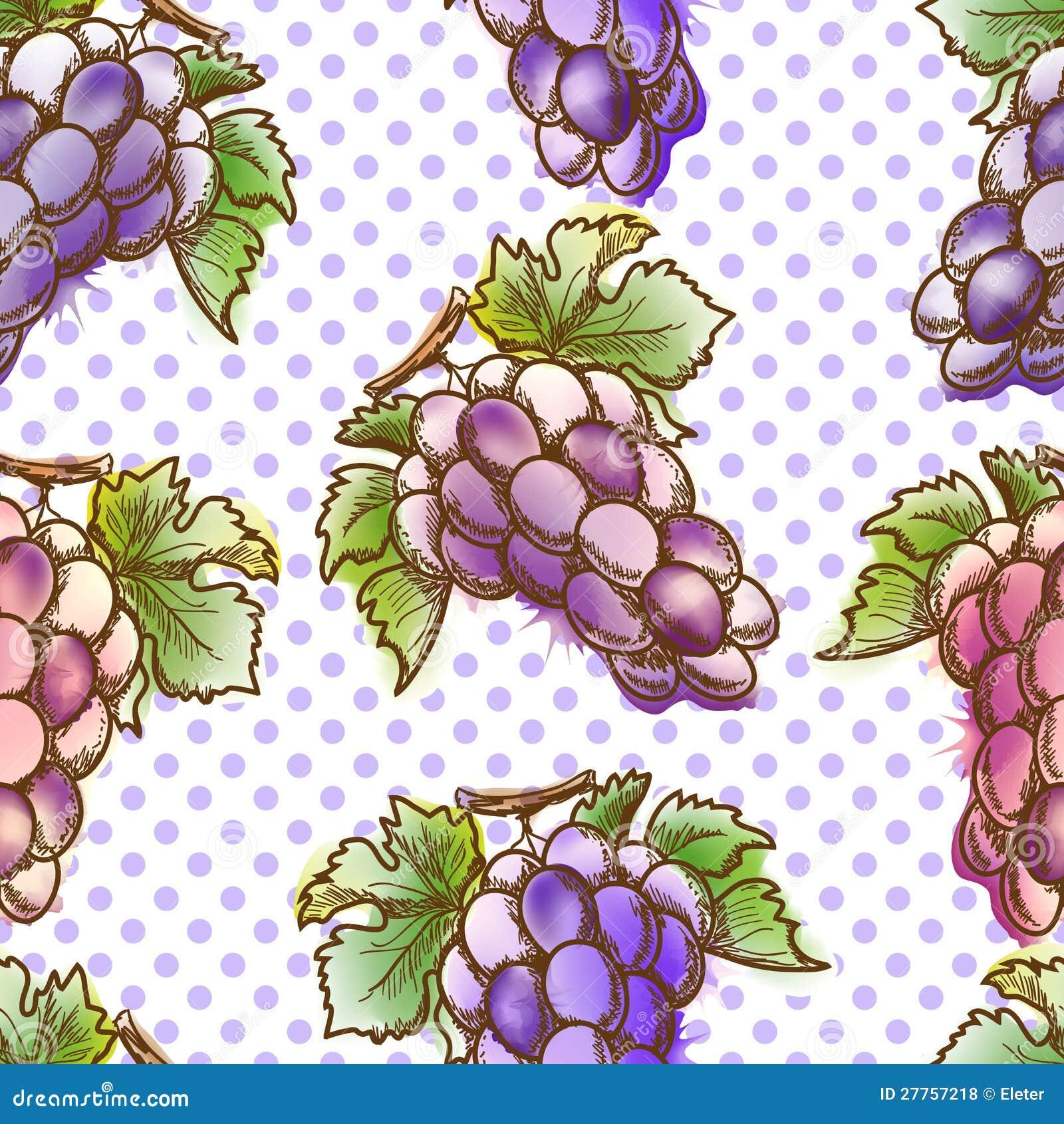 Configuration sans joint avec du raisin