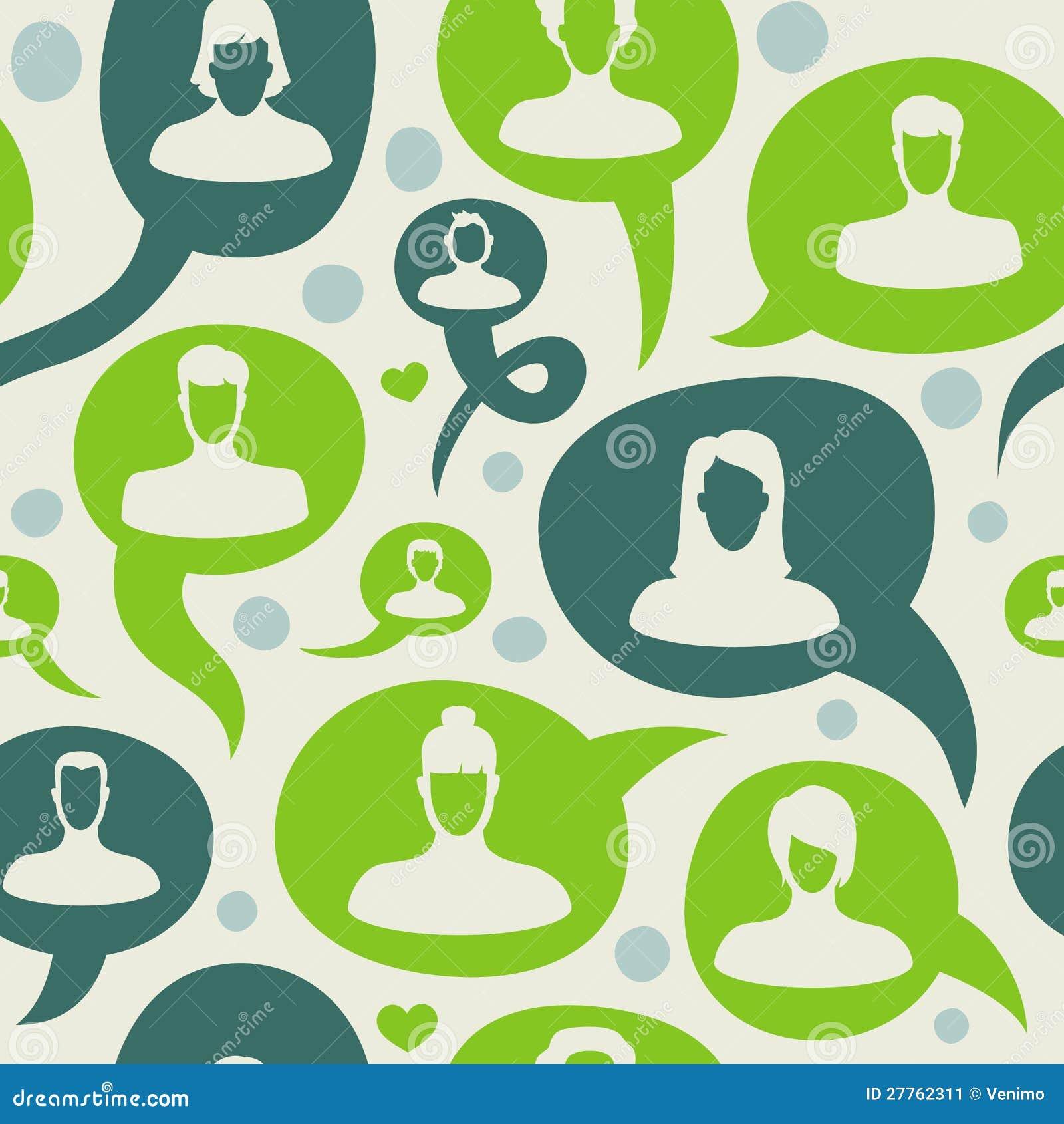 Configuration sans joint de vecteur avec le réseau social