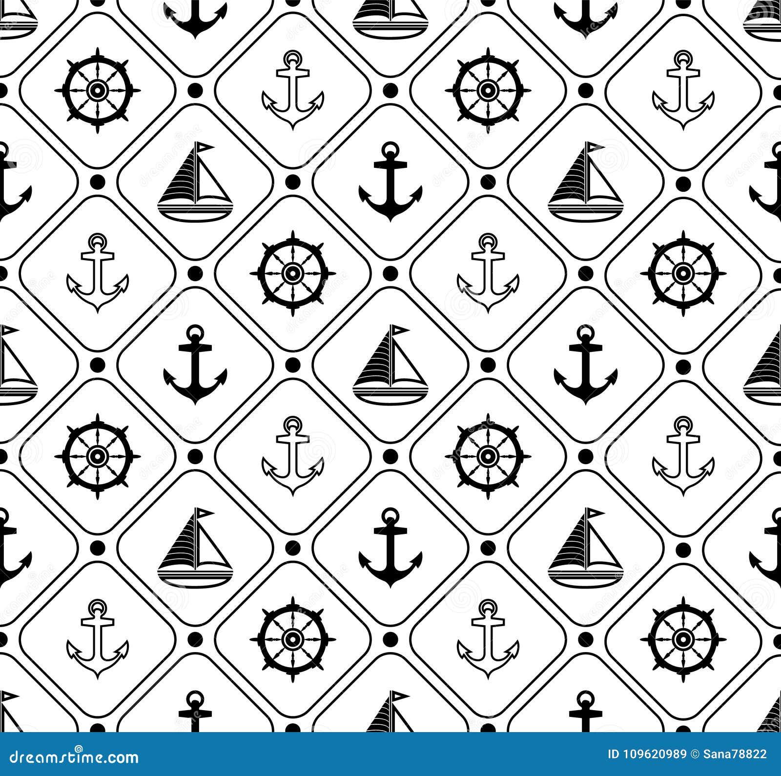 Papier Peint Deco Marine configuration sans joint marine approprié au papier peint