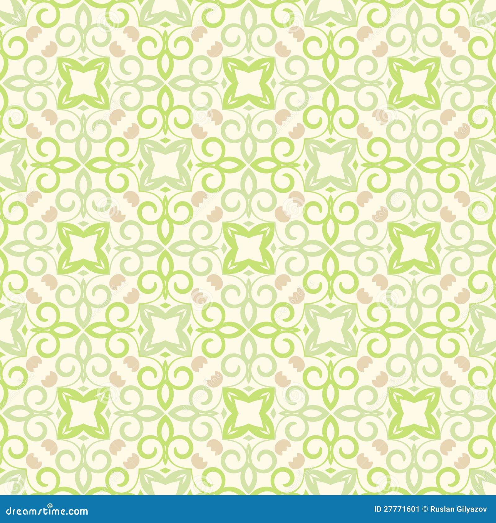 Configuration verte de papier peint