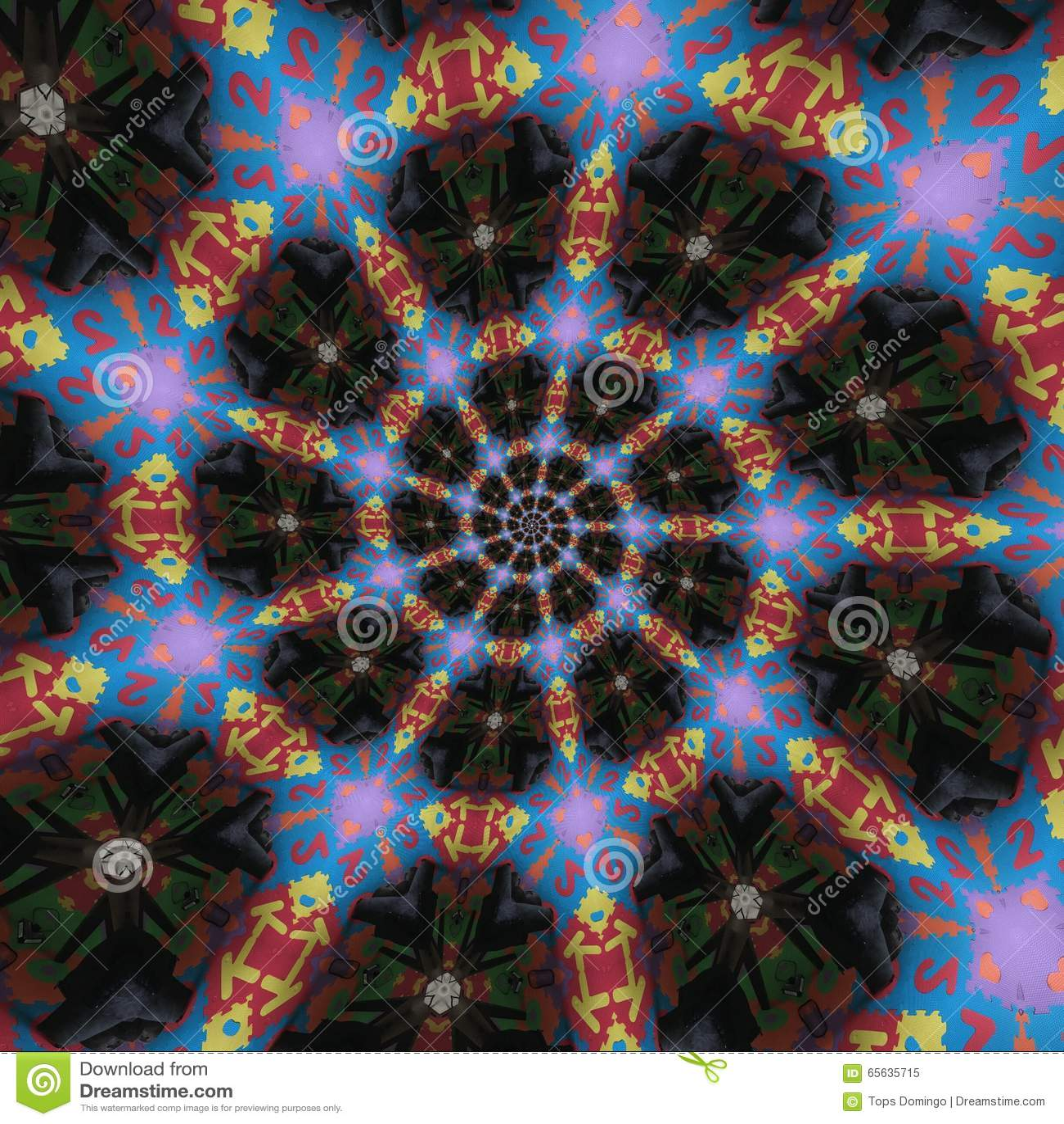 Configurations circulaires abstraites