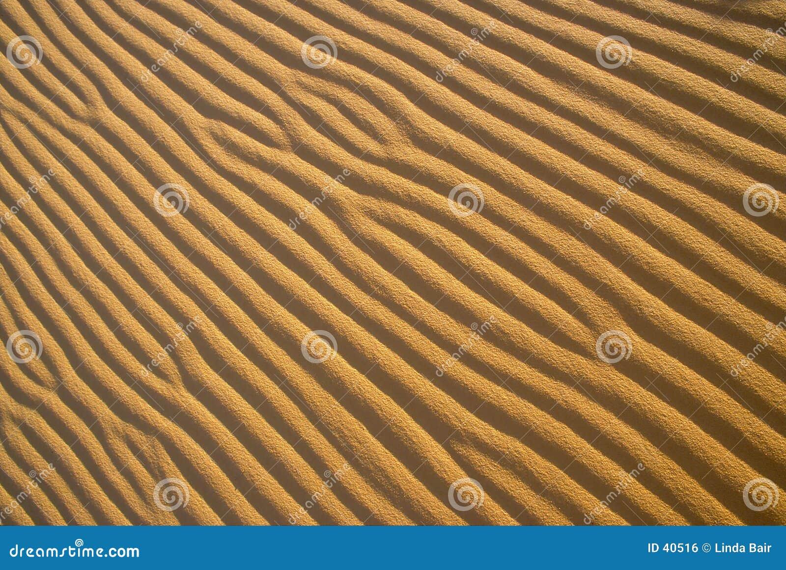 Configurations d ondulation de sable