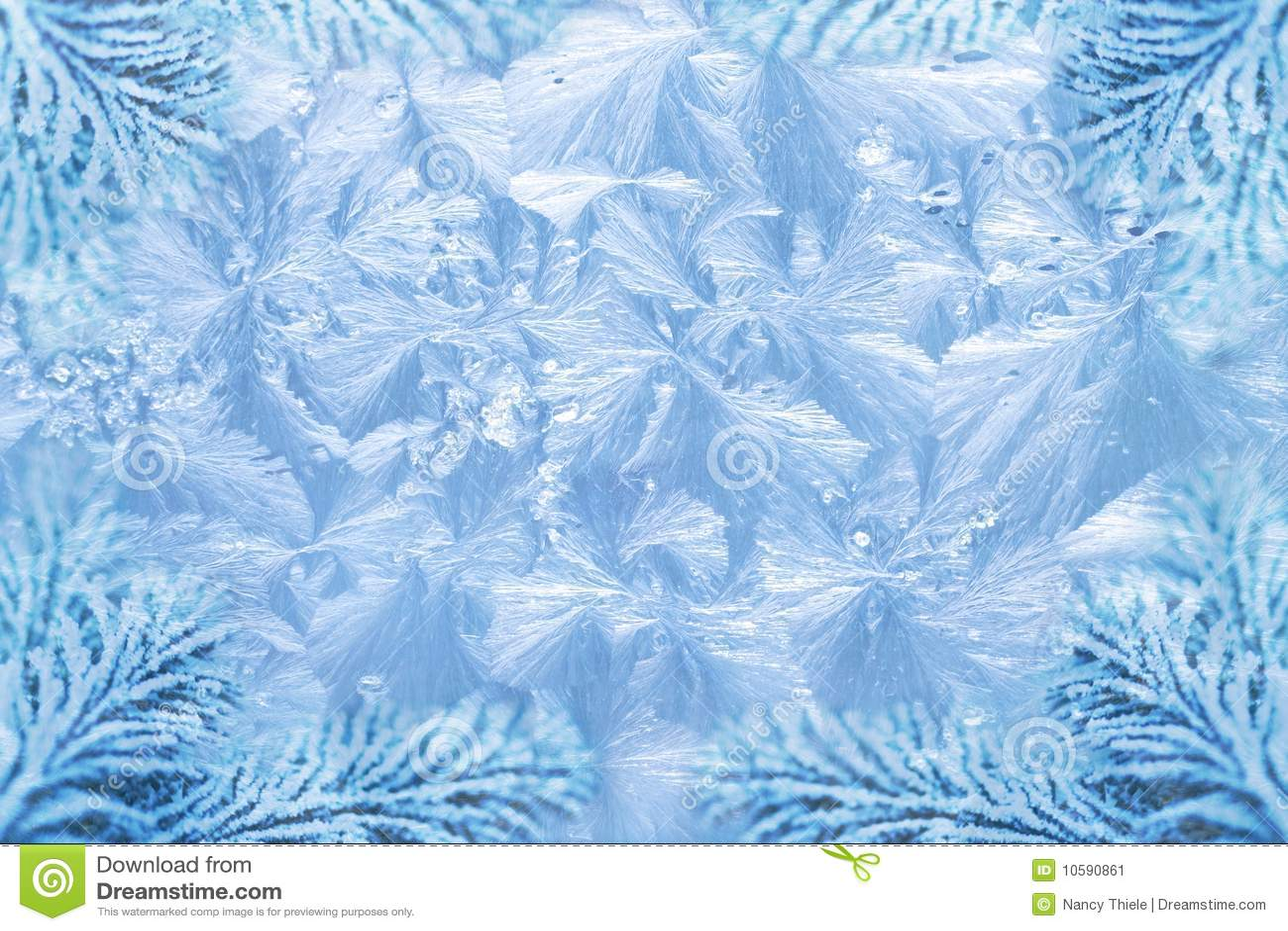 Configurations De Cristal De Glace De Gel De Jack Et Sapin ...