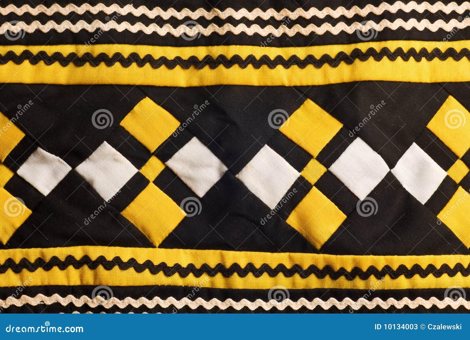 Configurations piquées fabriquées à la main de Seminole