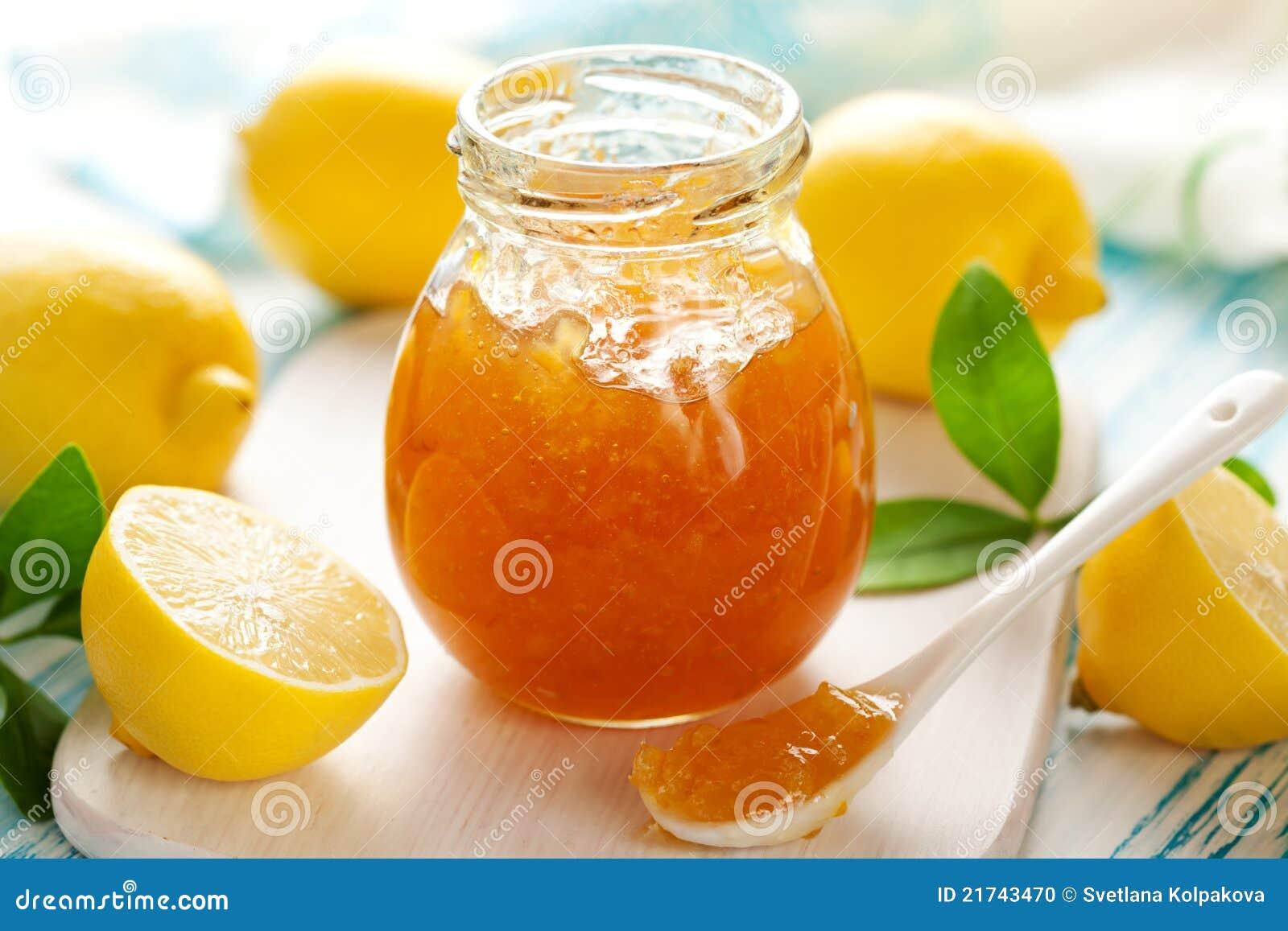 confiture d 39 oranges de citron photo stock image du vert. Black Bedroom Furniture Sets. Home Design Ideas