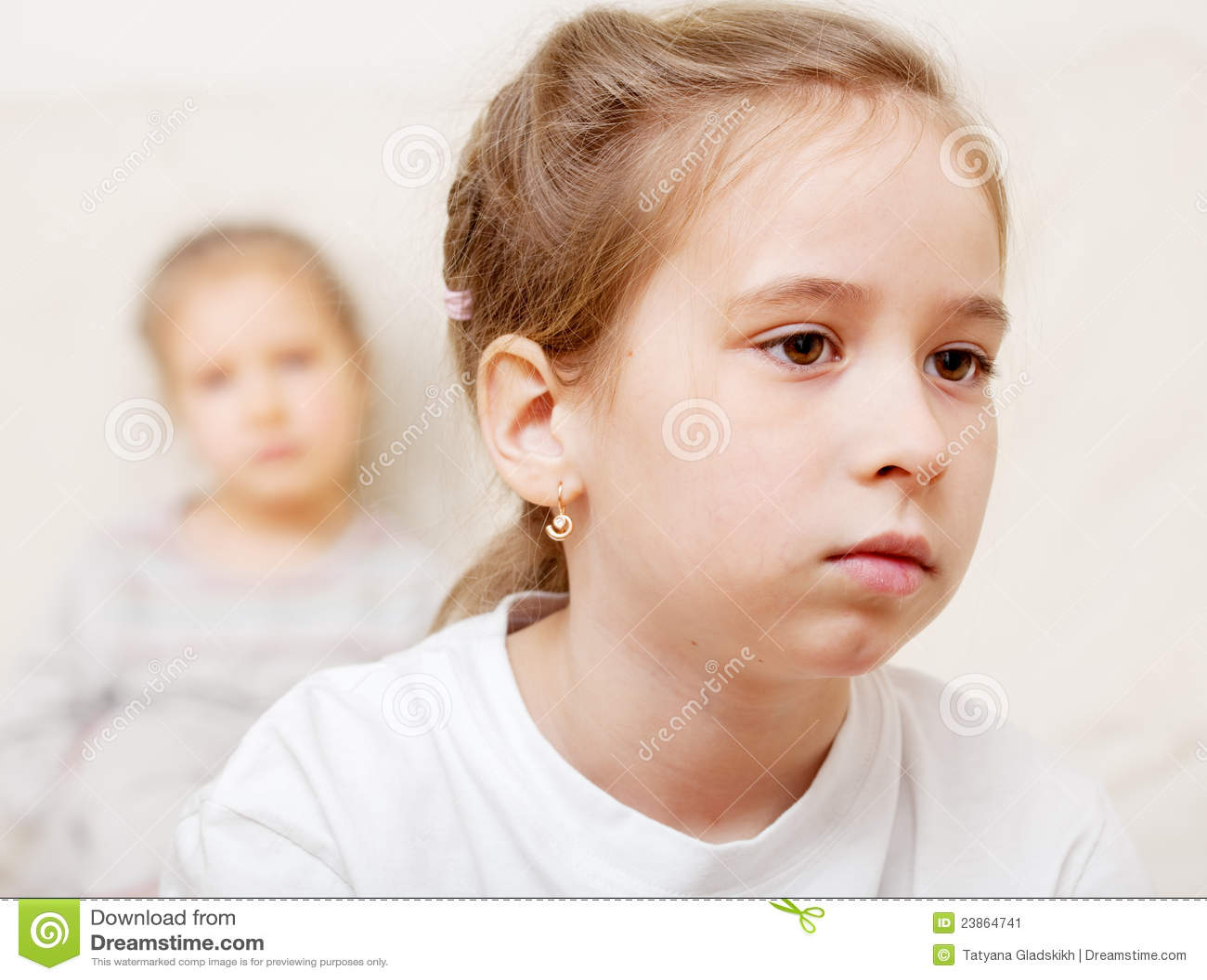 Conflict Between Children Stock Image - Image: 23864741