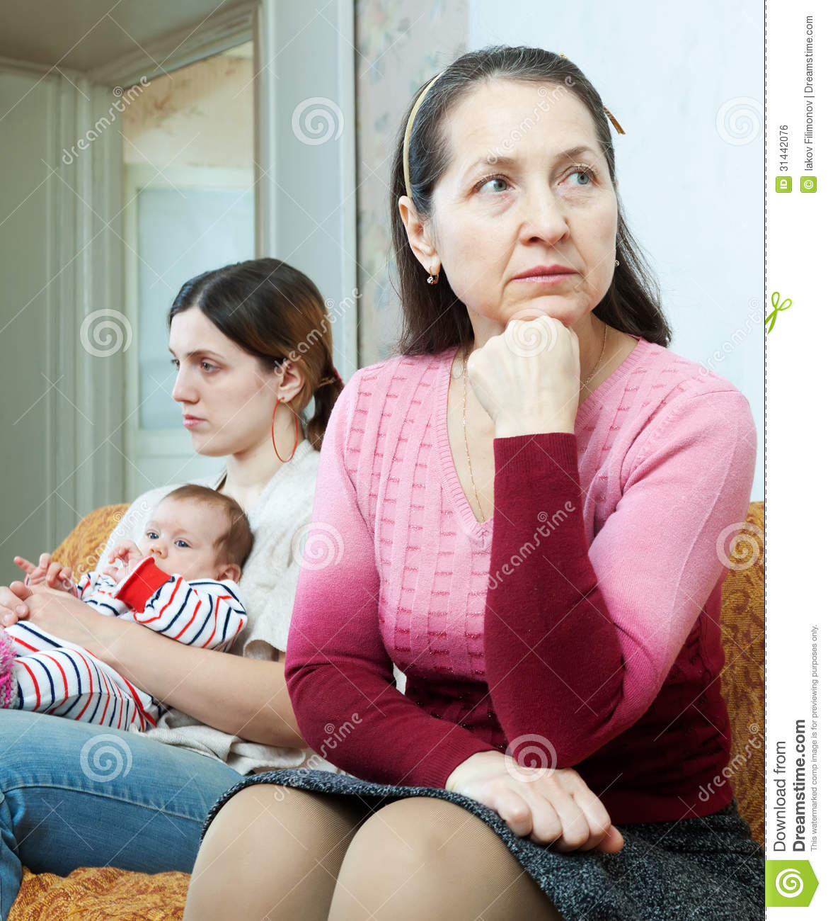 the conflicts between mother and daughter The best friend, the one-call-a-week, the glorified babysitter what mother-and-daughter tribe are you.