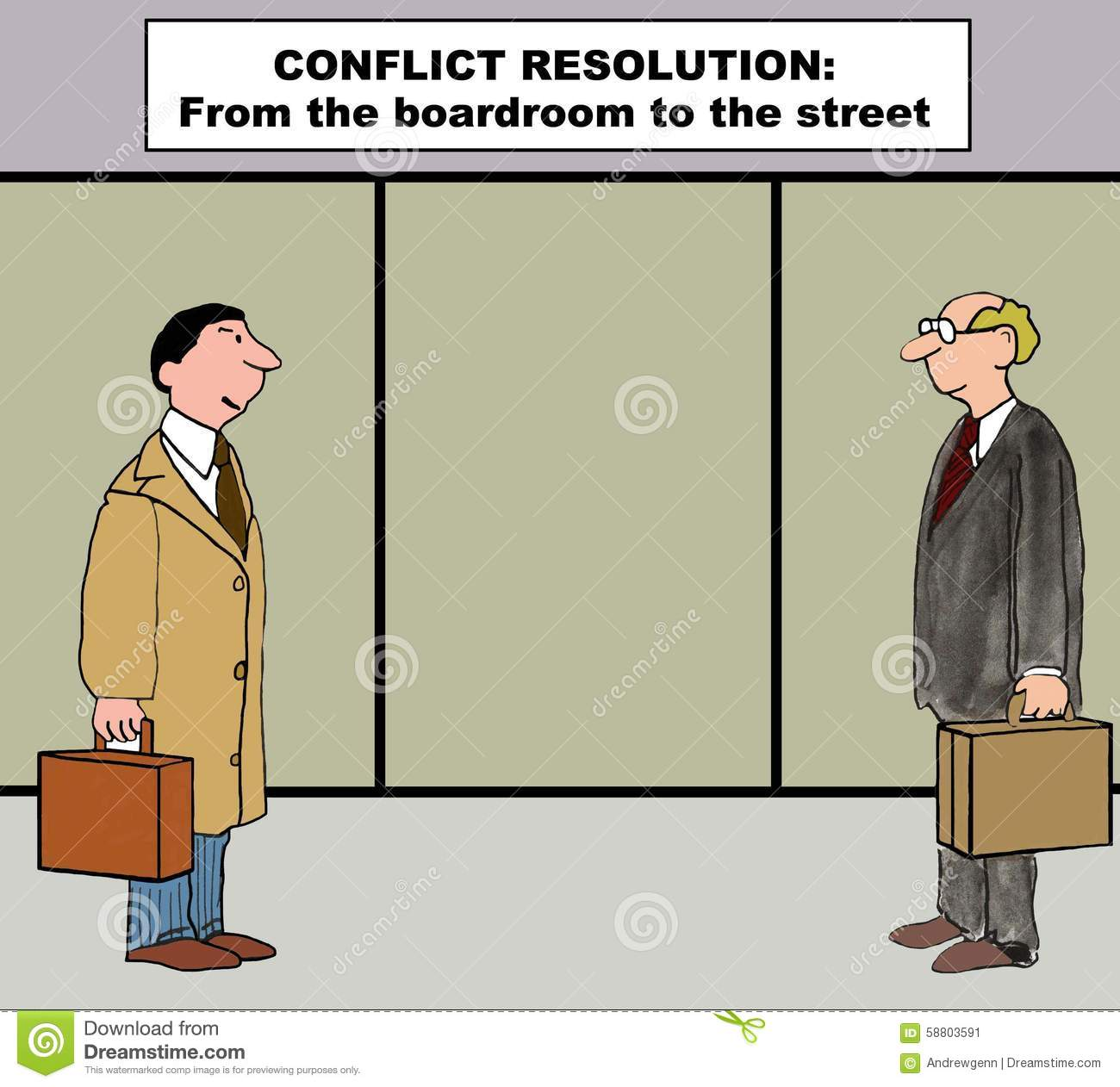 an insight in the strategies of conflict resolution in business An introduction to conflict resolution 1  conflict styles and strategies collaboration when to practice: when the relationship is important image image 3333.