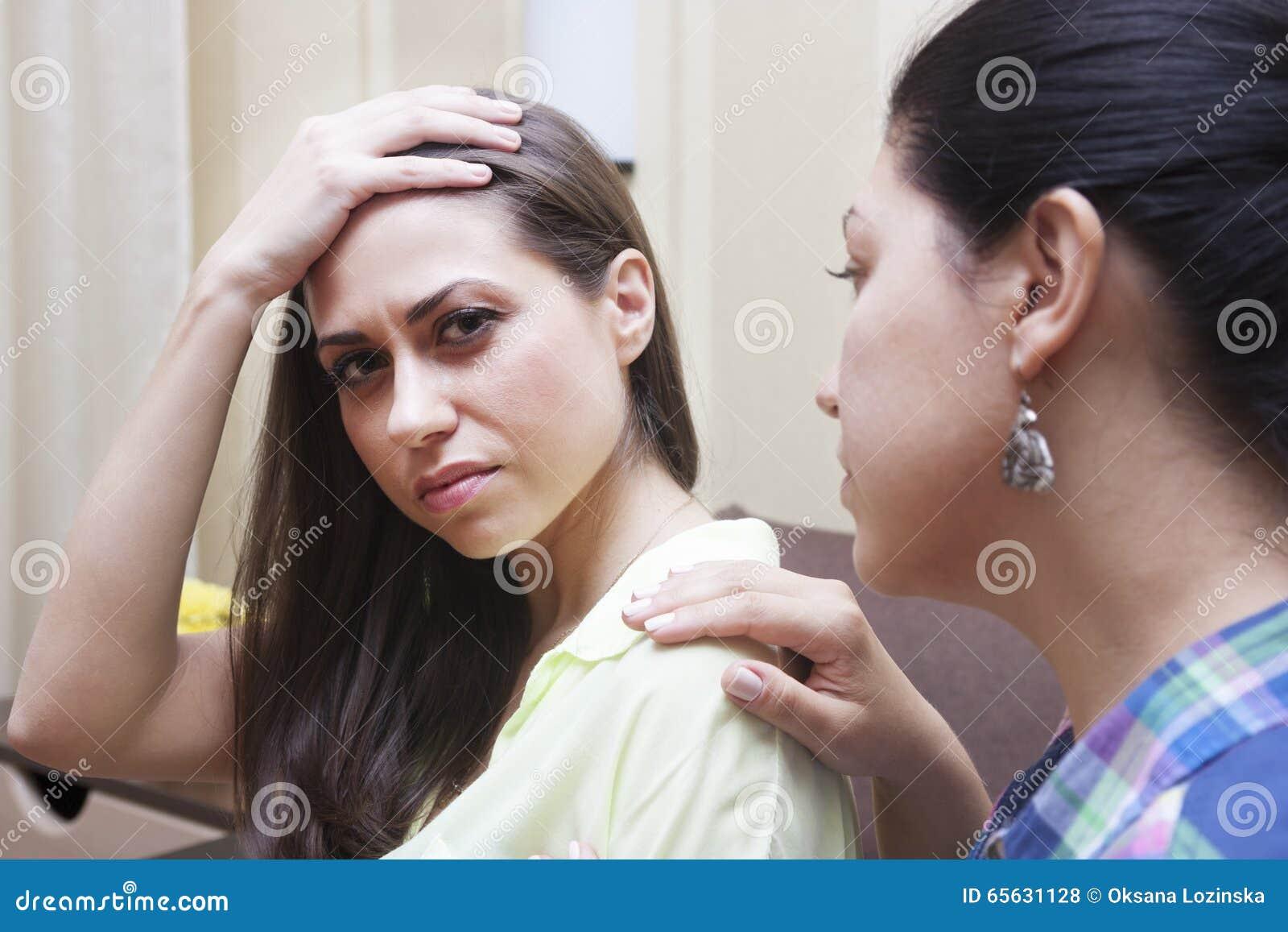 Conflit et soeurs d adulte