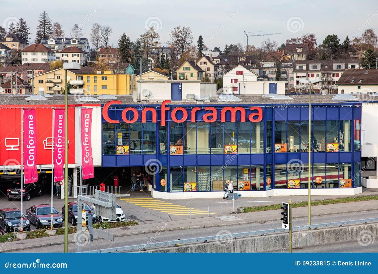 Conforama gesch ftsgeb ude in wallisellen die schweiz for Conforama svizzera