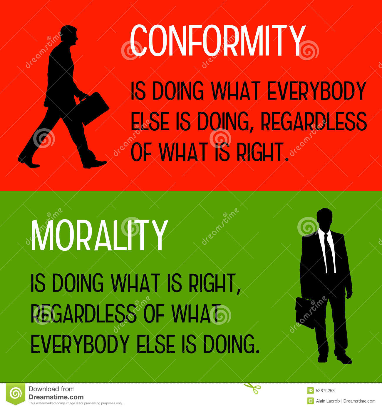 What is conformity in psychology