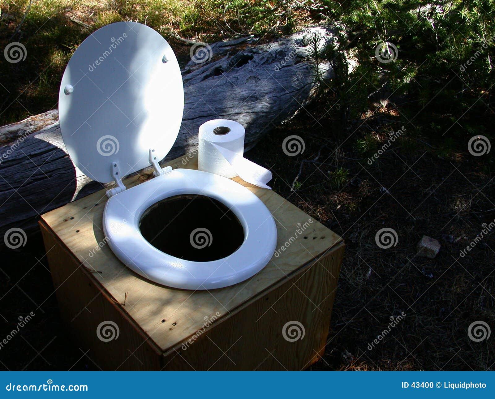 Confortos de criatura do toalete