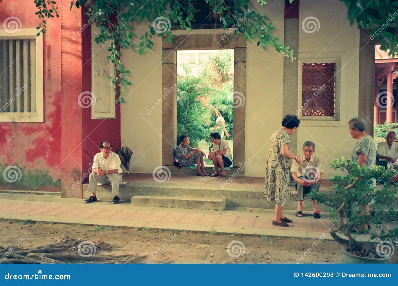 Confucius świątynia Tainan