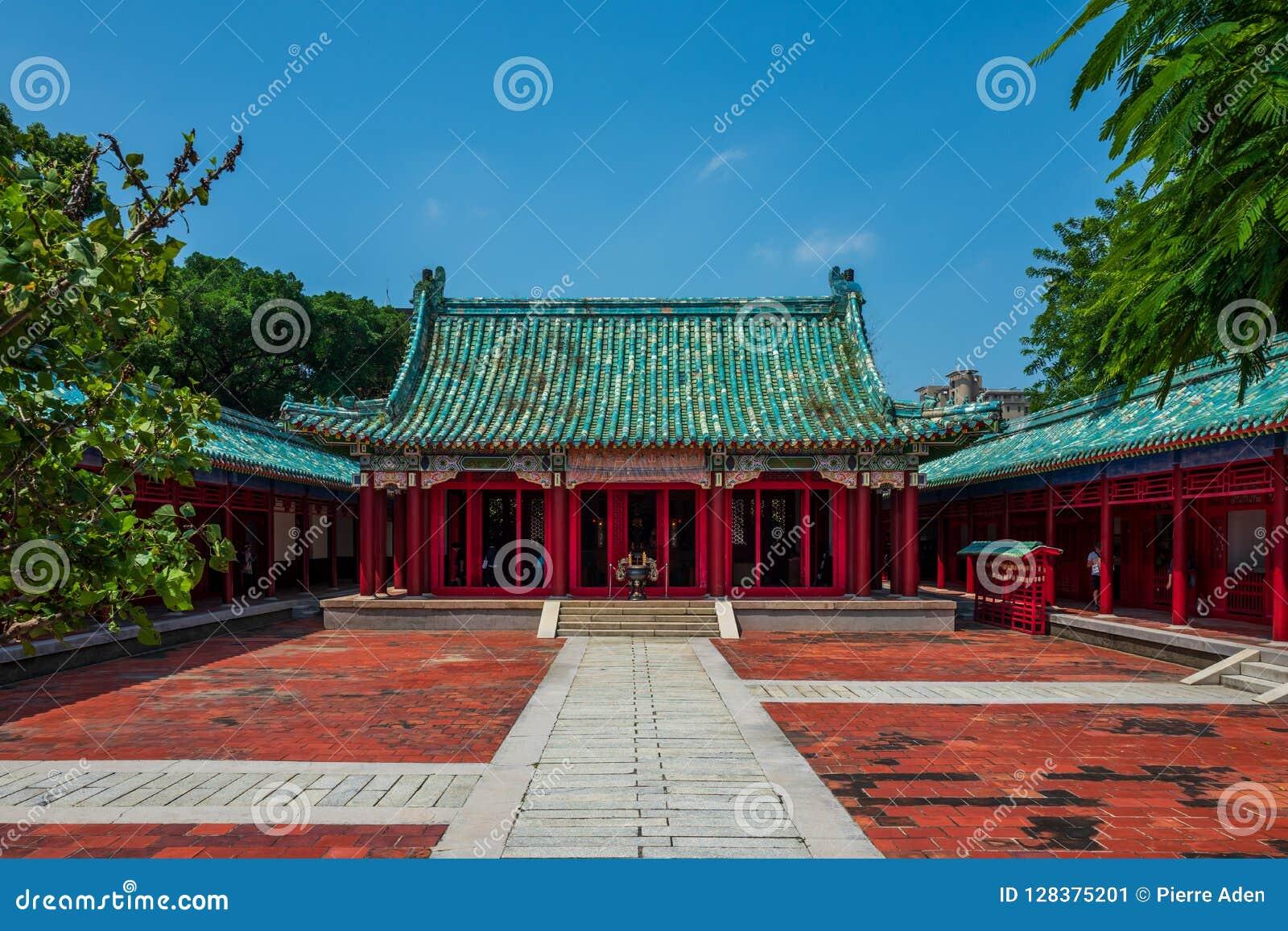 Confucius świątynia w Tainan, Tajwan