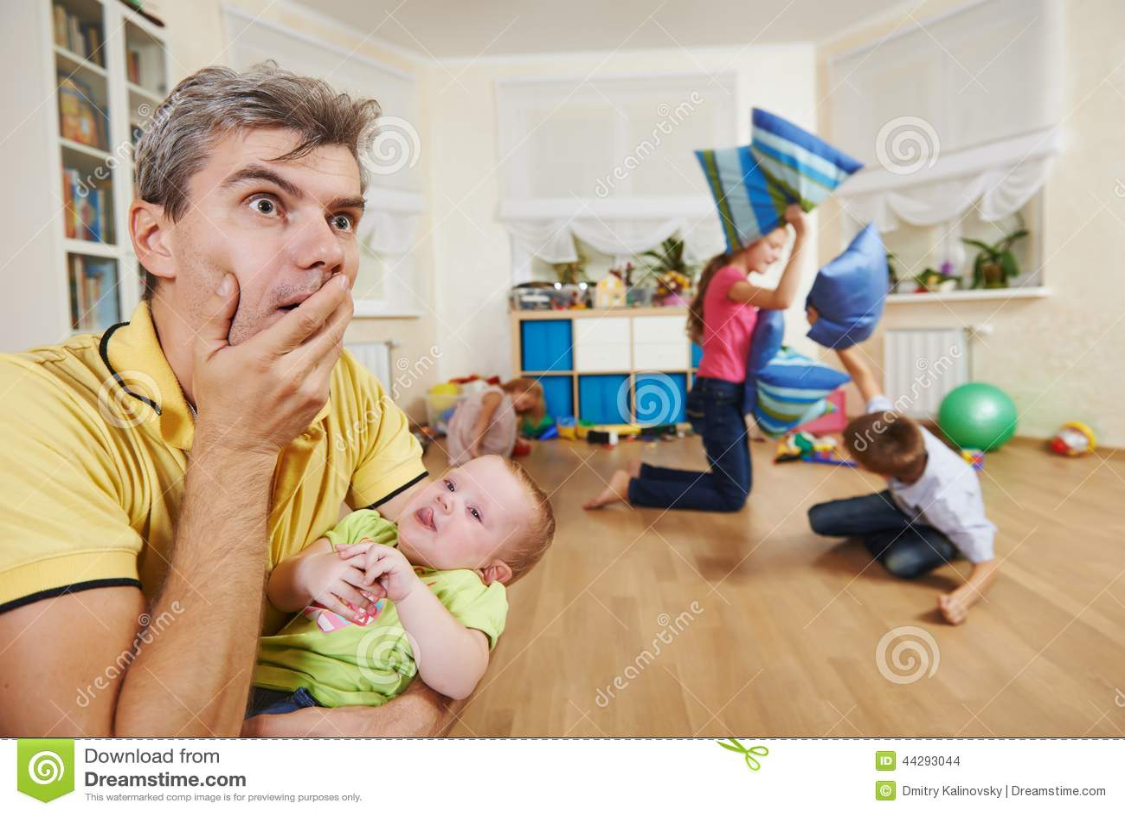 Confusão na produção das crianças