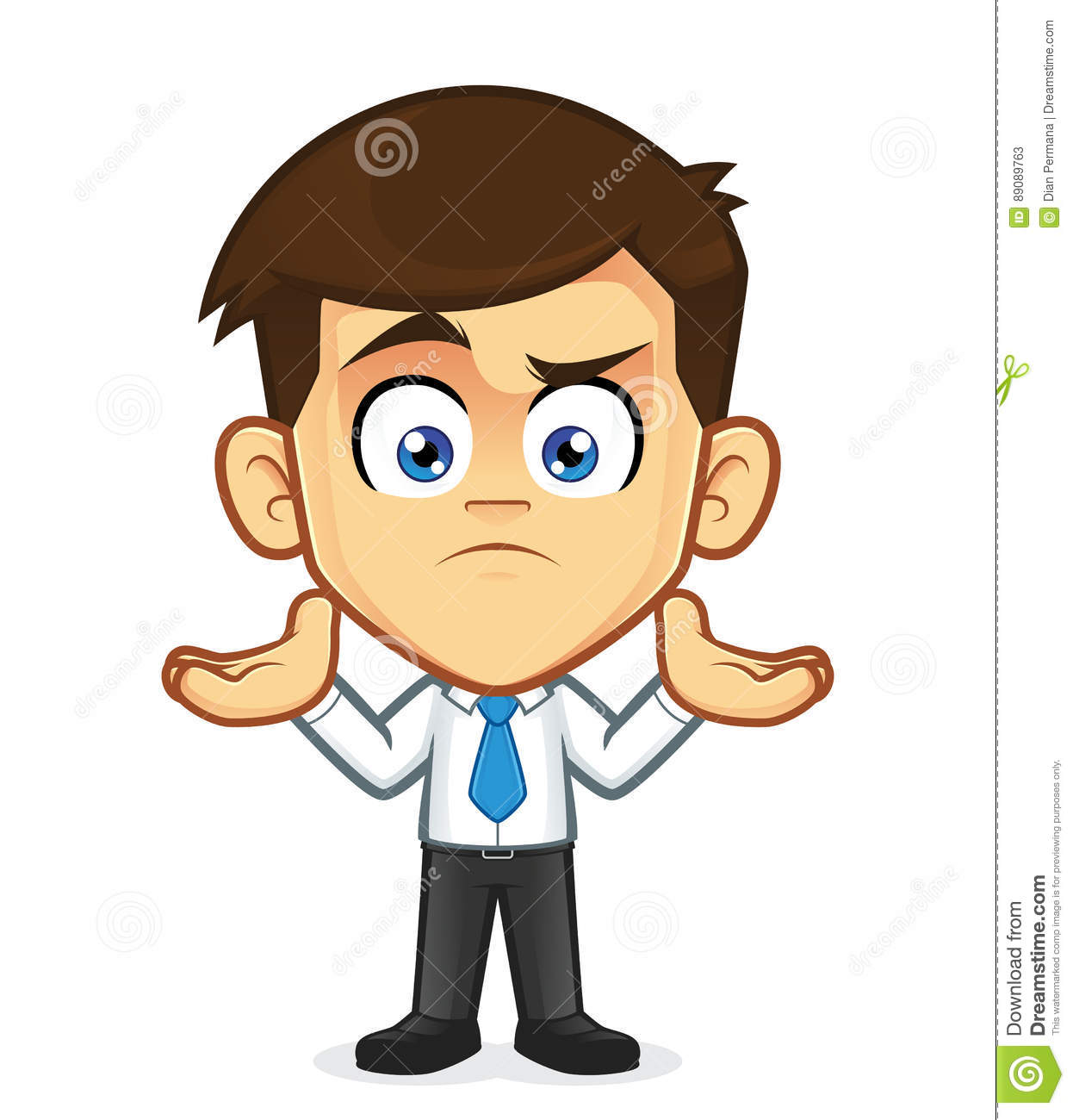 Cartoon Clipart - Confused Person Cartoon Png - free transparent png images  - pngaaa.com